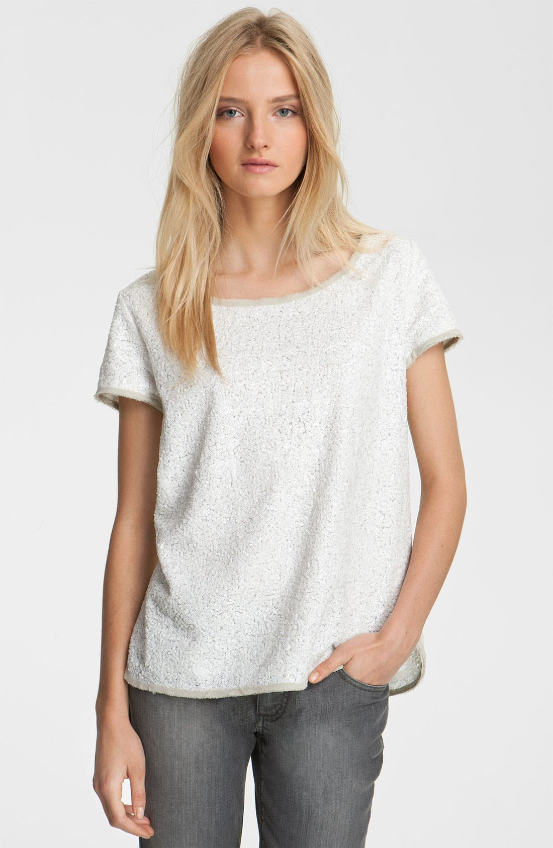 Alternate Image 1 Selected - Zadig & Voltaire Sequin Tee