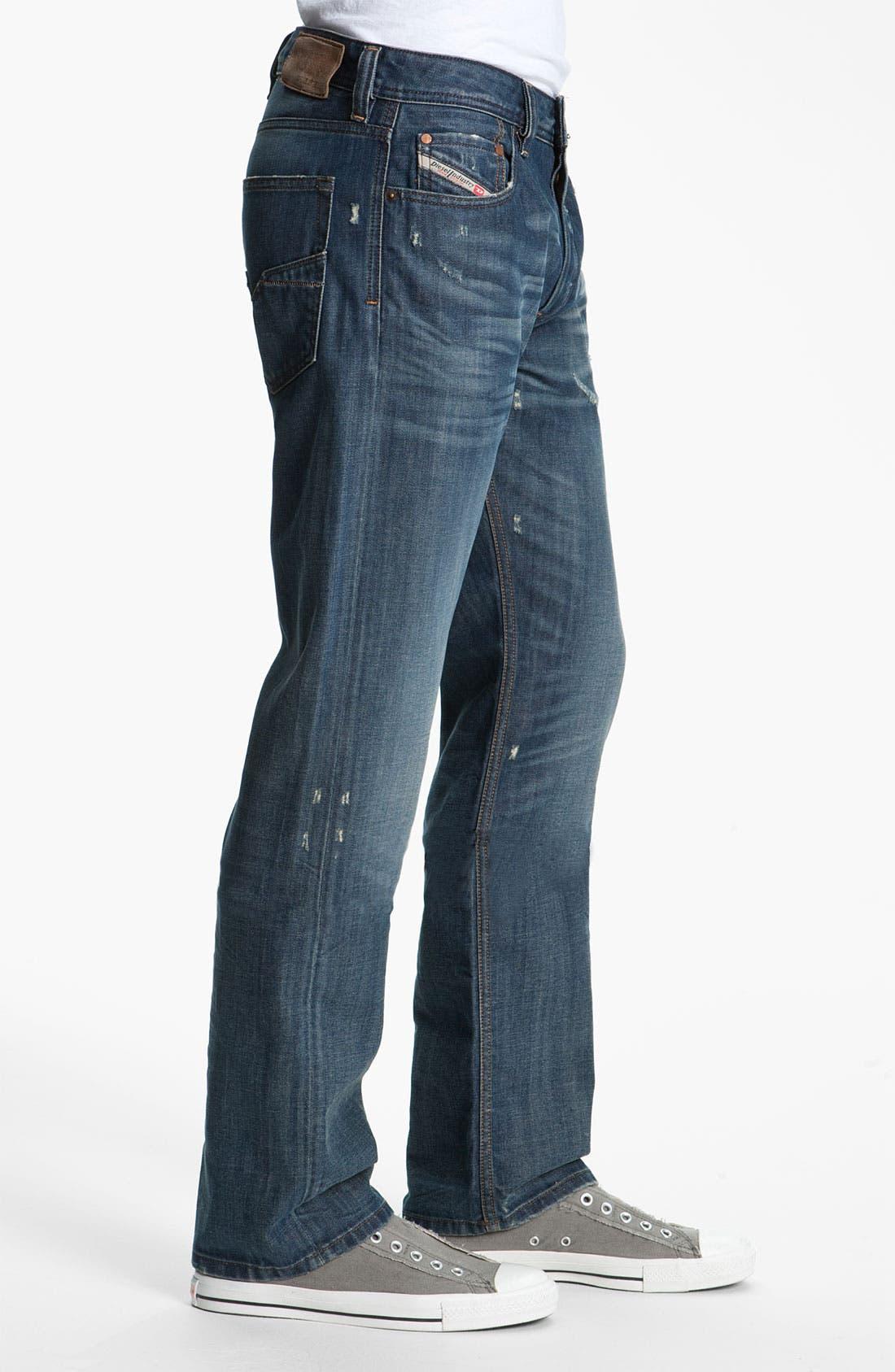 Alternate Image 3  - DIESEL® 'Larkee' Relaxed Straight Leg Jeans (0885S)