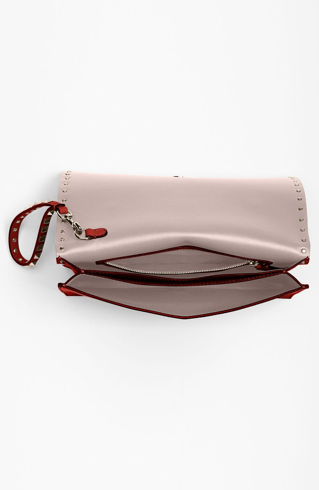 Alternate Image 3  - Valentino 'Rockstud' Leather Clutch