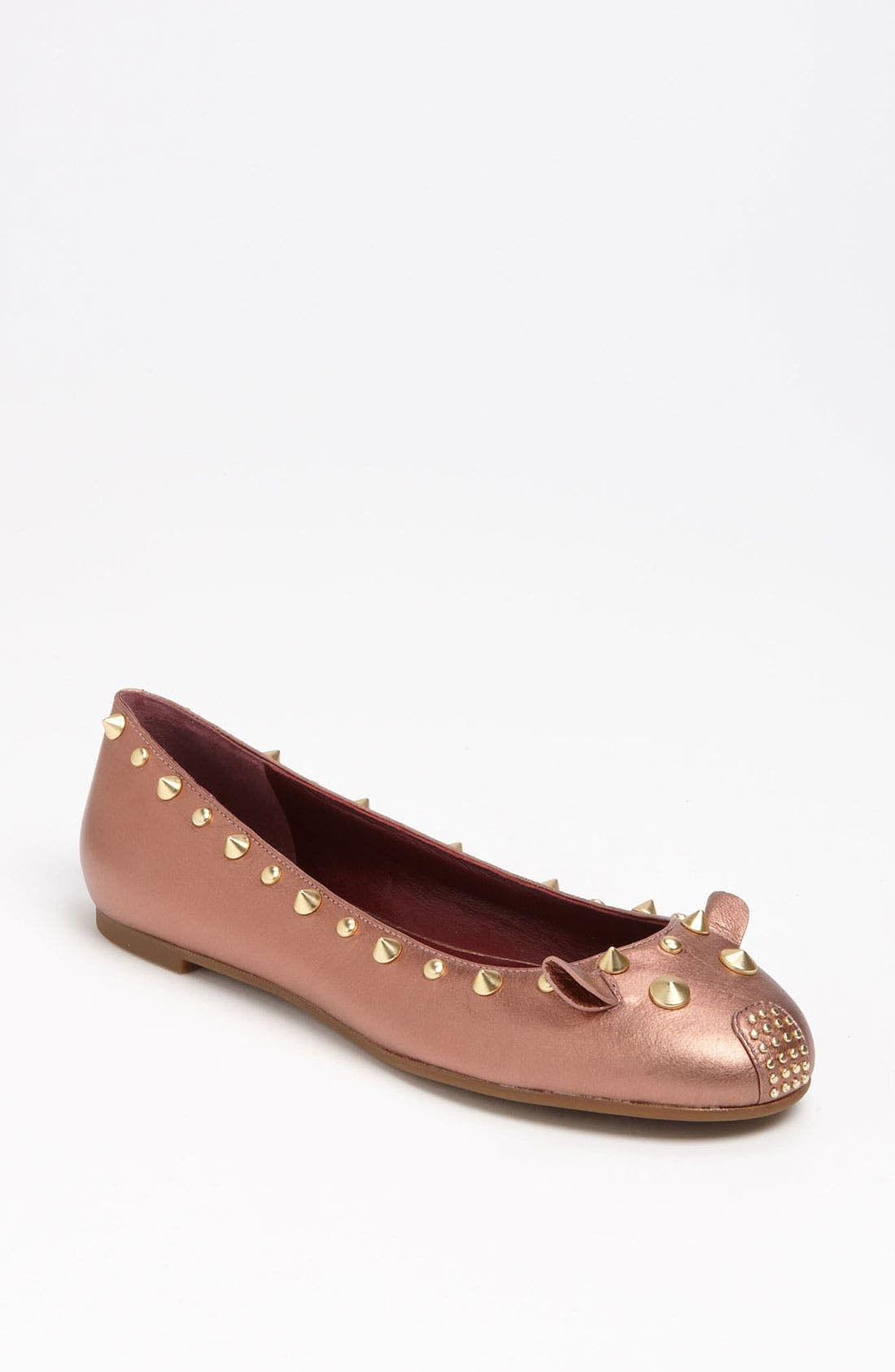 Main Image - MARC BY MARC JACOBS 'Studded Mouse' Flat