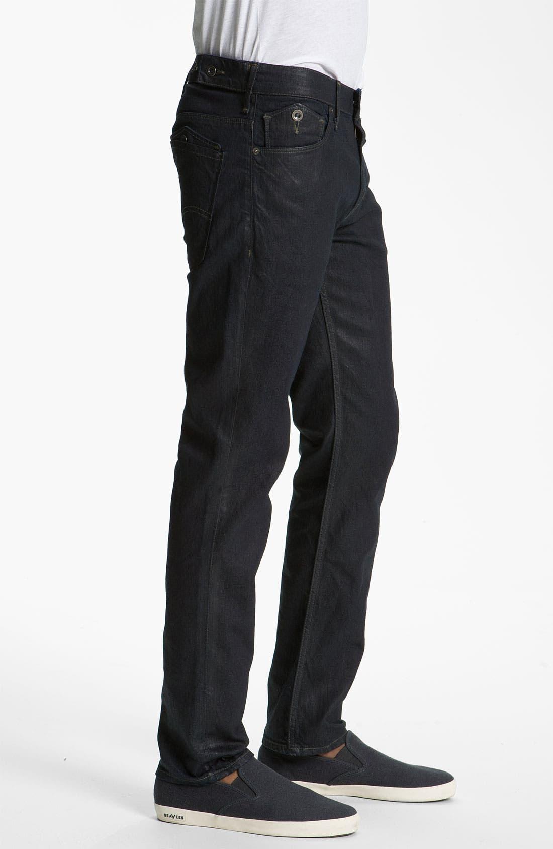 Alternate Image 3  - Levi's® '511™' Coated Slim Straight Leg Jeans (Dean)