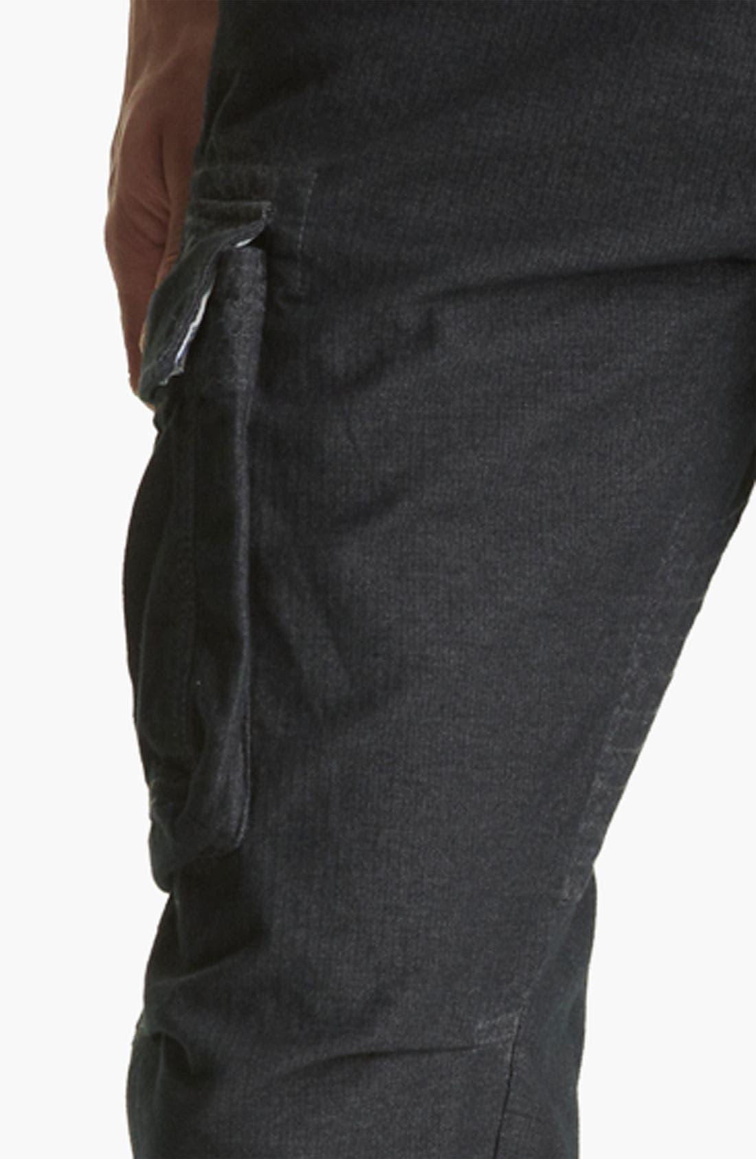 Alternate Image 4  - Gant by Michael Bastian Slim Fit Herringbone Cargo Pants