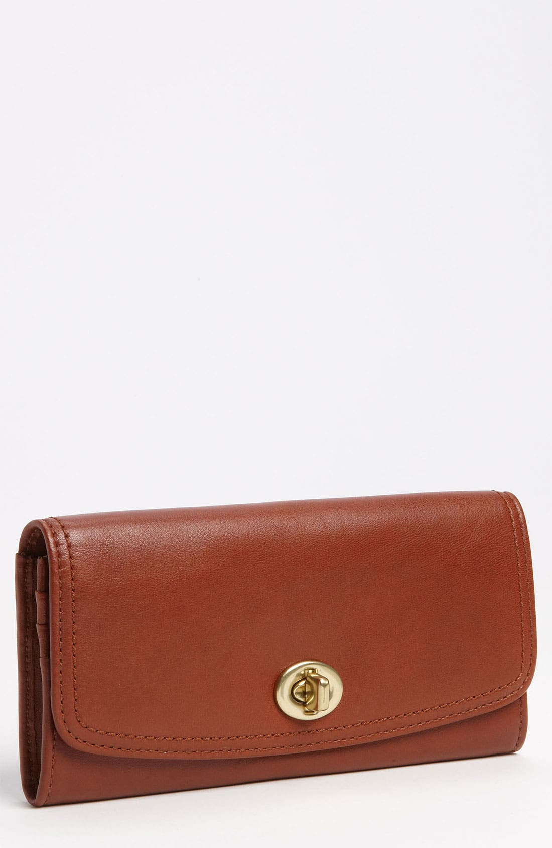 Main Image - COACH 'Legacy - Slim' Leather Envelope Wallet
