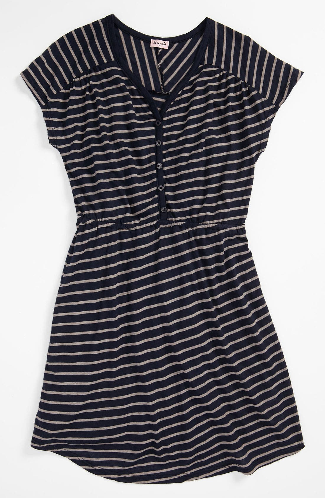 Main Image - Splendid 'Nutmeg' Stripe Dress (Big Girls)