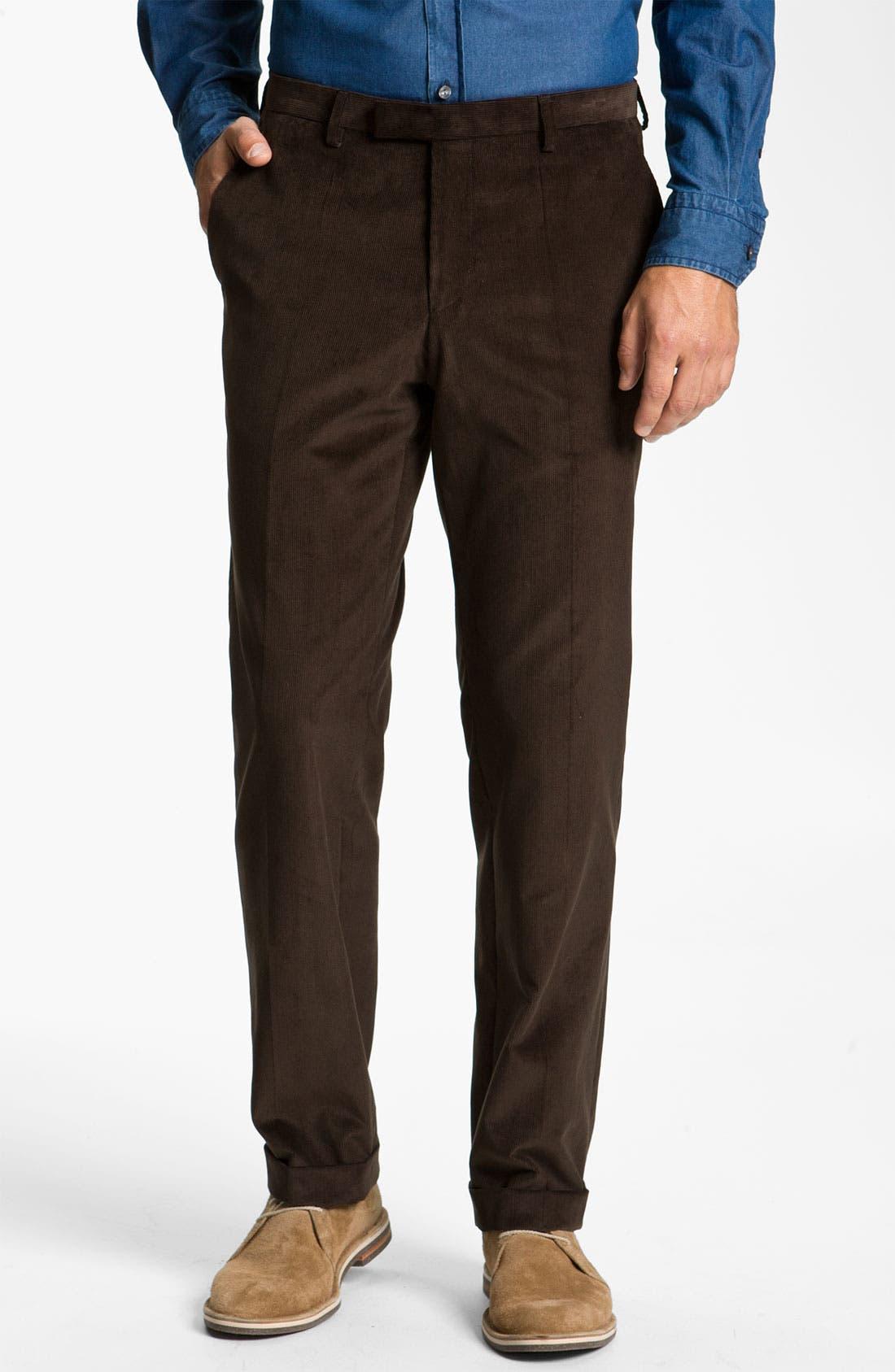 Alternate Image 4  - BOSS Black 'James/Sharp' Trim Fit Corduroy Suit