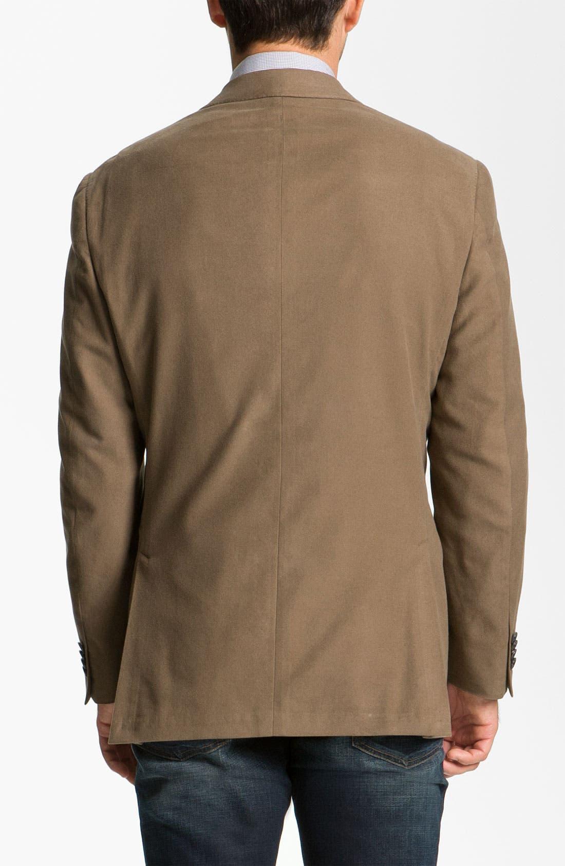 Alternate Image 2  - Hart Schaffner Marx Cotton Blazer