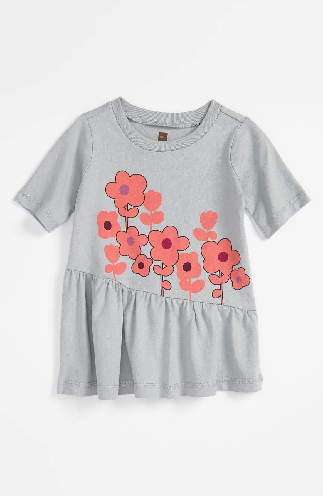 Alternate Image 1 Selected - Tea Collection 'Forget Me Not' Top (Infant)