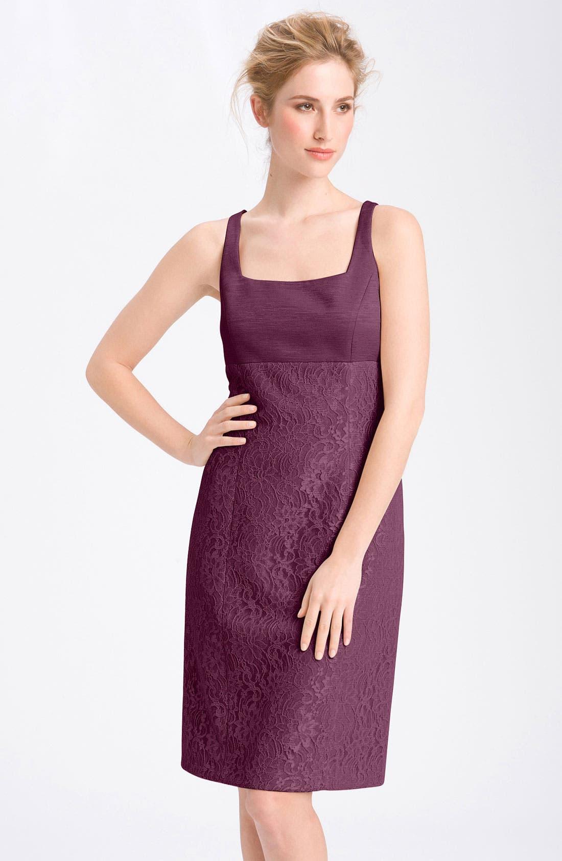 Alternate Image 2  - Tahari Lace Sheath Dress & Jacket
