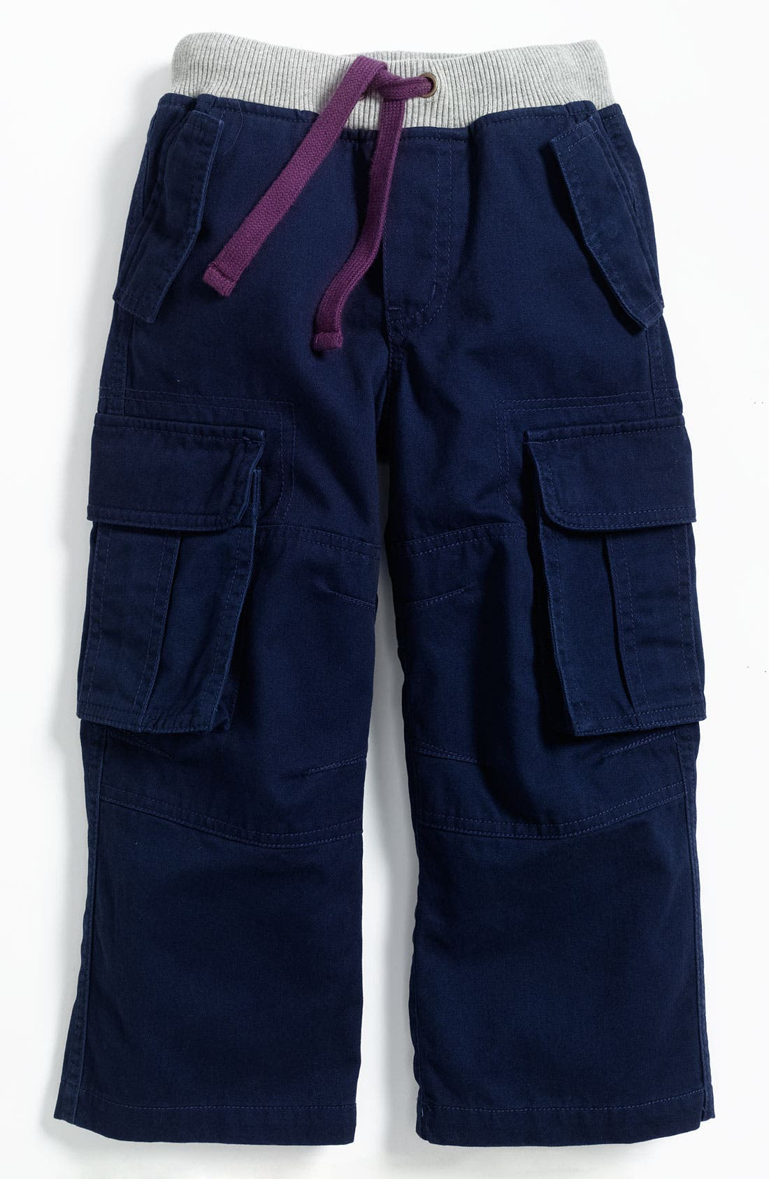 Main Image - Mini Boden Ribbed Waist Cargo Pants (Little Boys & Big Boys)