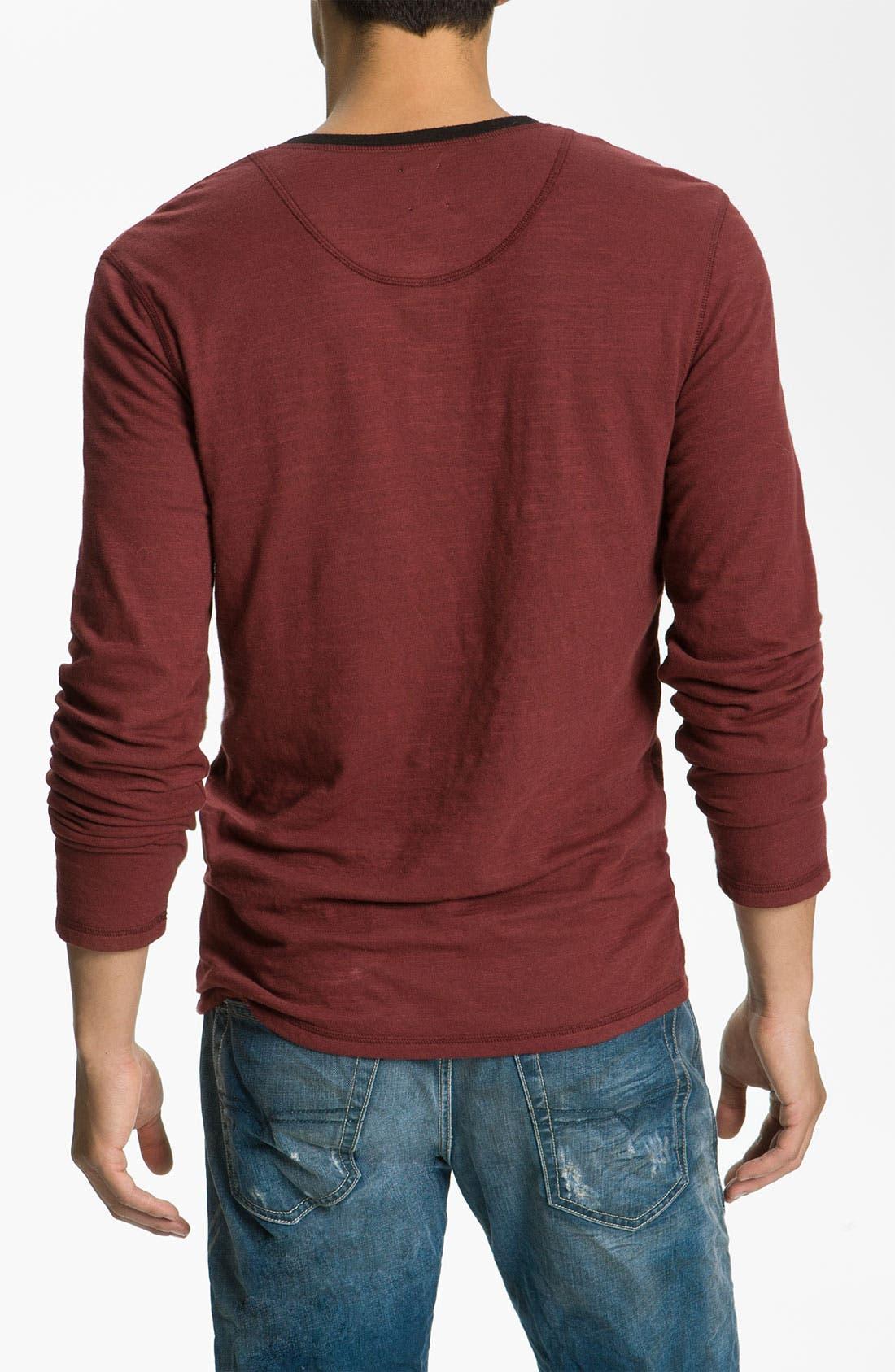 Alternate Image 2  - NSF Clothing 'Bo' Slub Knit Henley