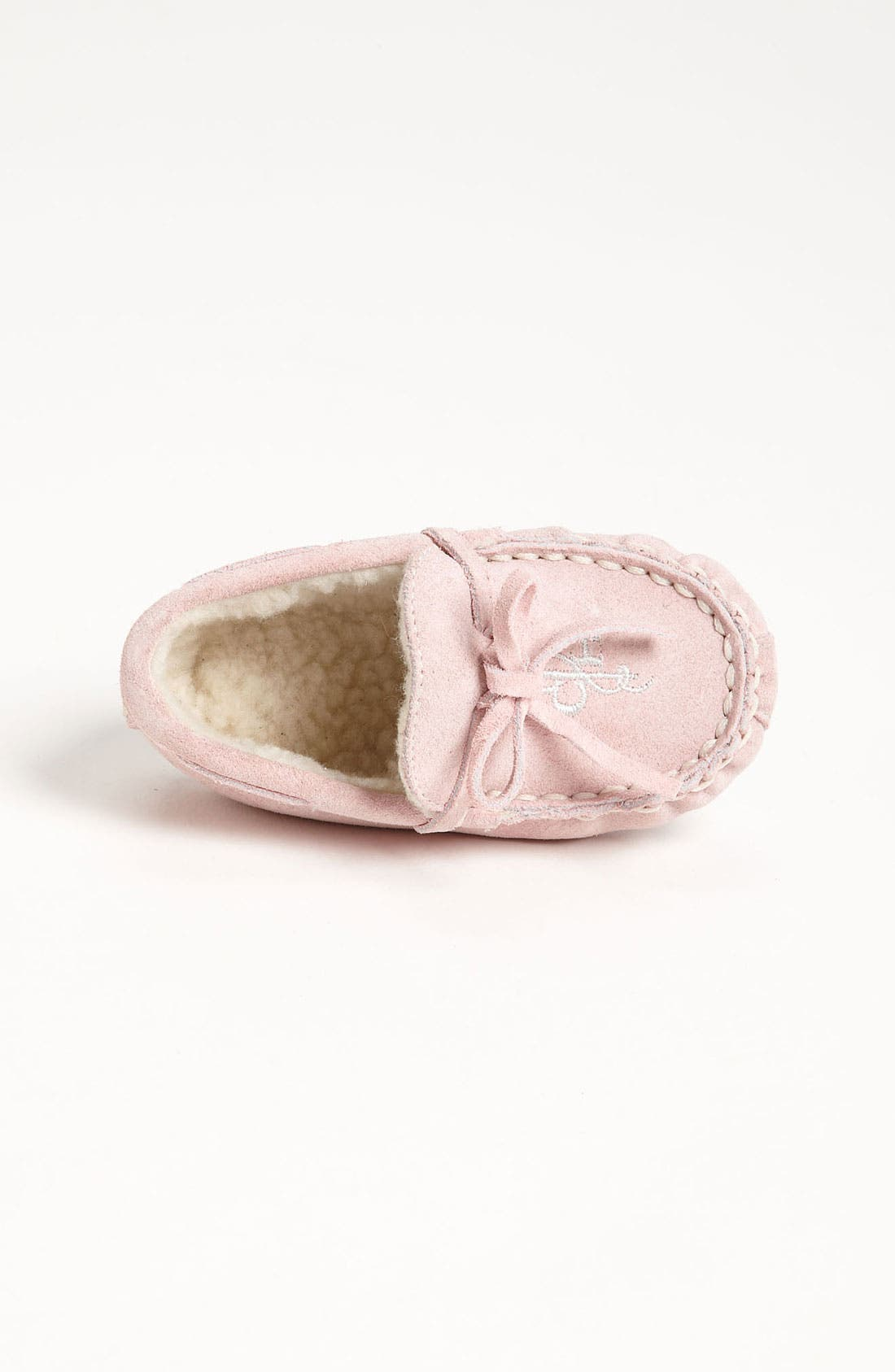 Alternate Image 3  - Cole Haan 'Mini' Moccasin with Faux Shearling Lining (Baby)