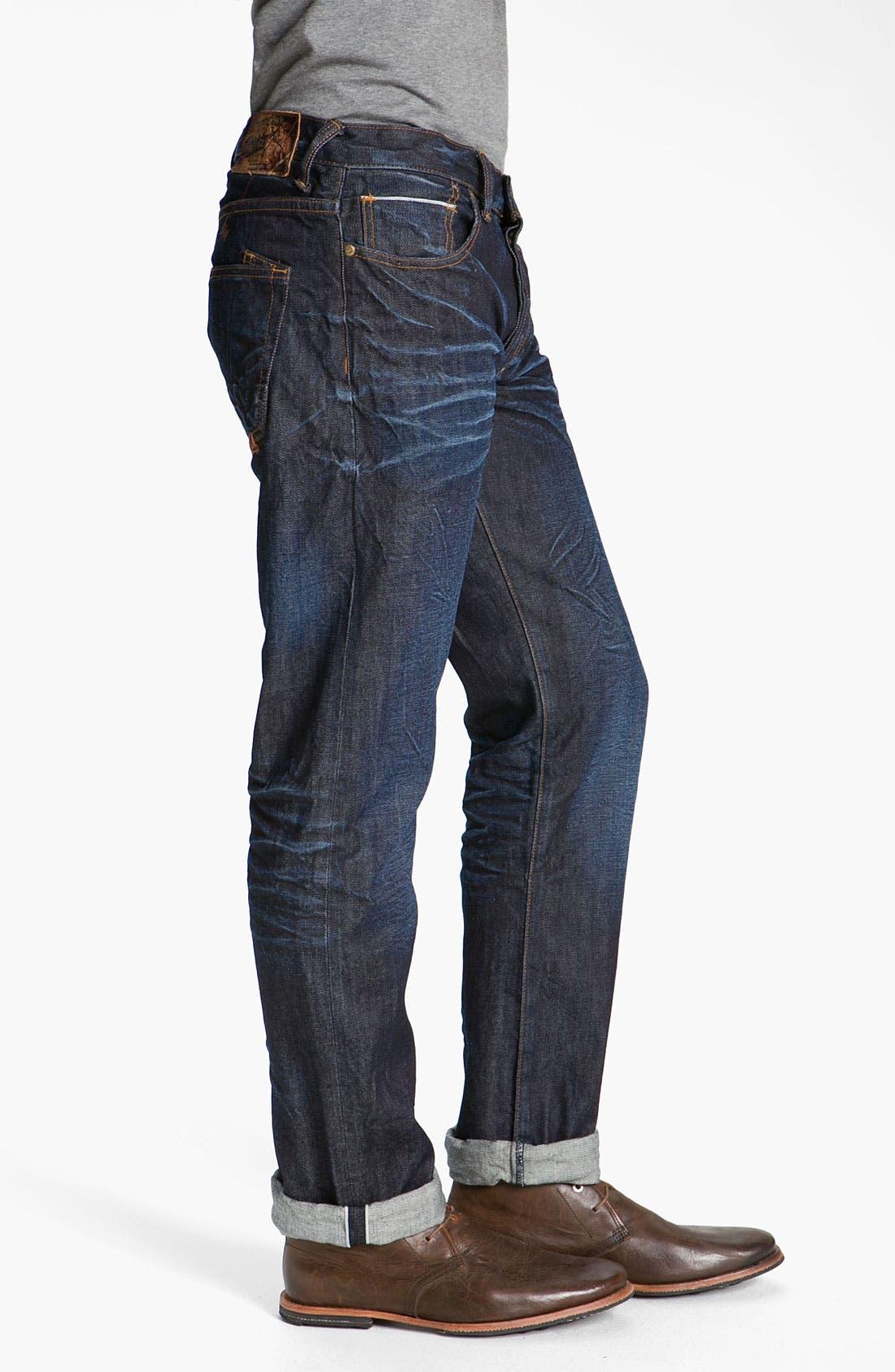 Alternate Image 3  - PRPS 'Snowy Crevasses Barracuda' Straight Leg Jeans (1 Year Wash)