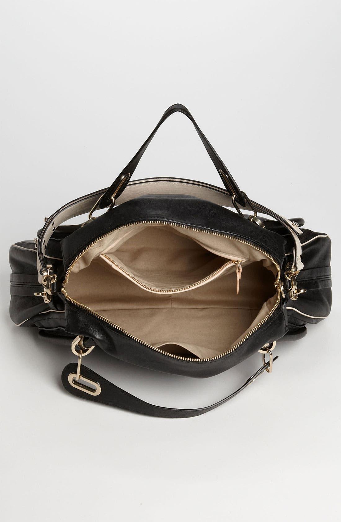 Alternate Image 3  - Chloé 'Military Paraty - Large' Leather Satchel
