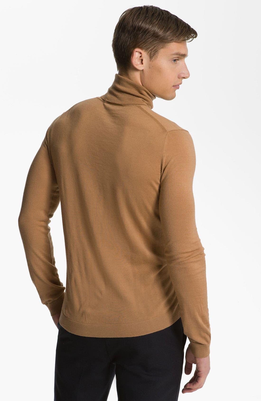 Alternate Image 2  - Pringle of Scotland Merino Wool Turtleneck Sweater