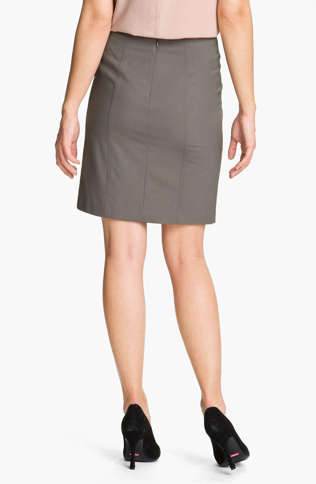 Alternate Image 2  - Theory 'Nuria - Tailor' Pencil Skirt