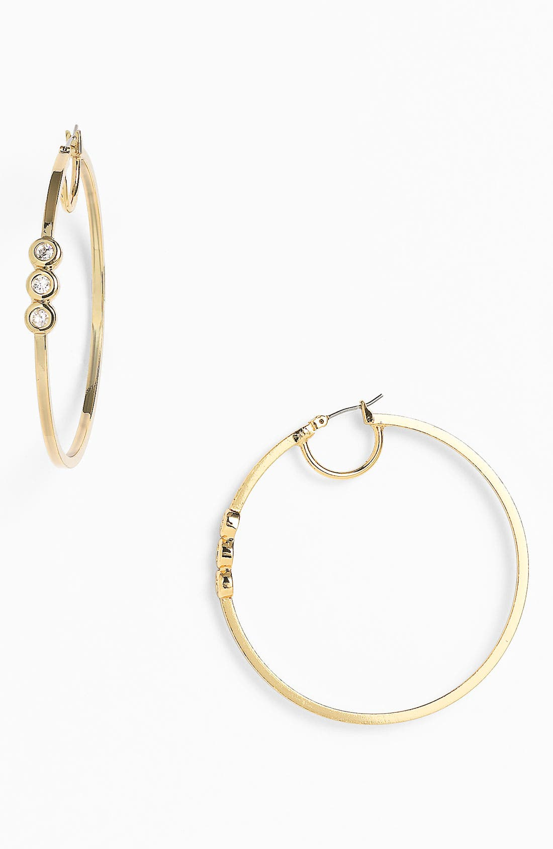 Alternate Image 1 Selected - Vince Camuto 'Basics' Hoop Earrings