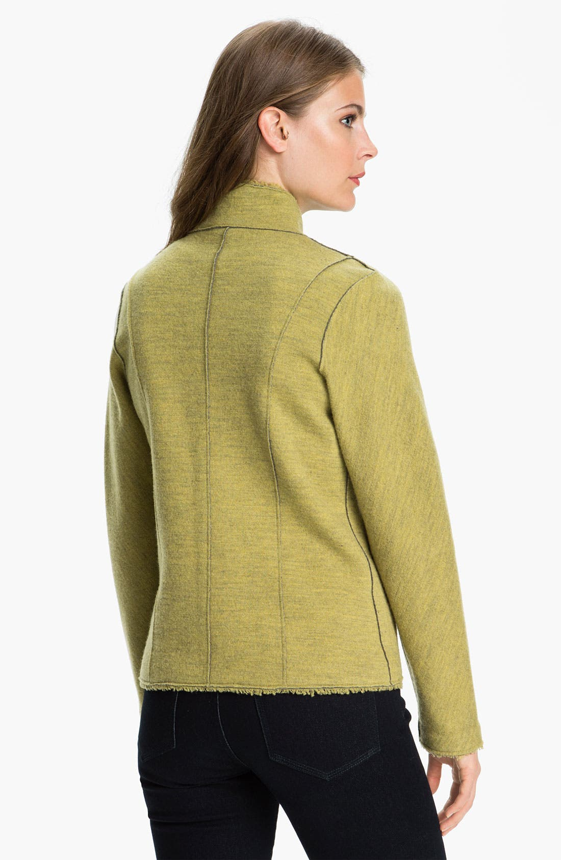 Alternate Image 2  - Eileen Fisher Double Knit Jacket