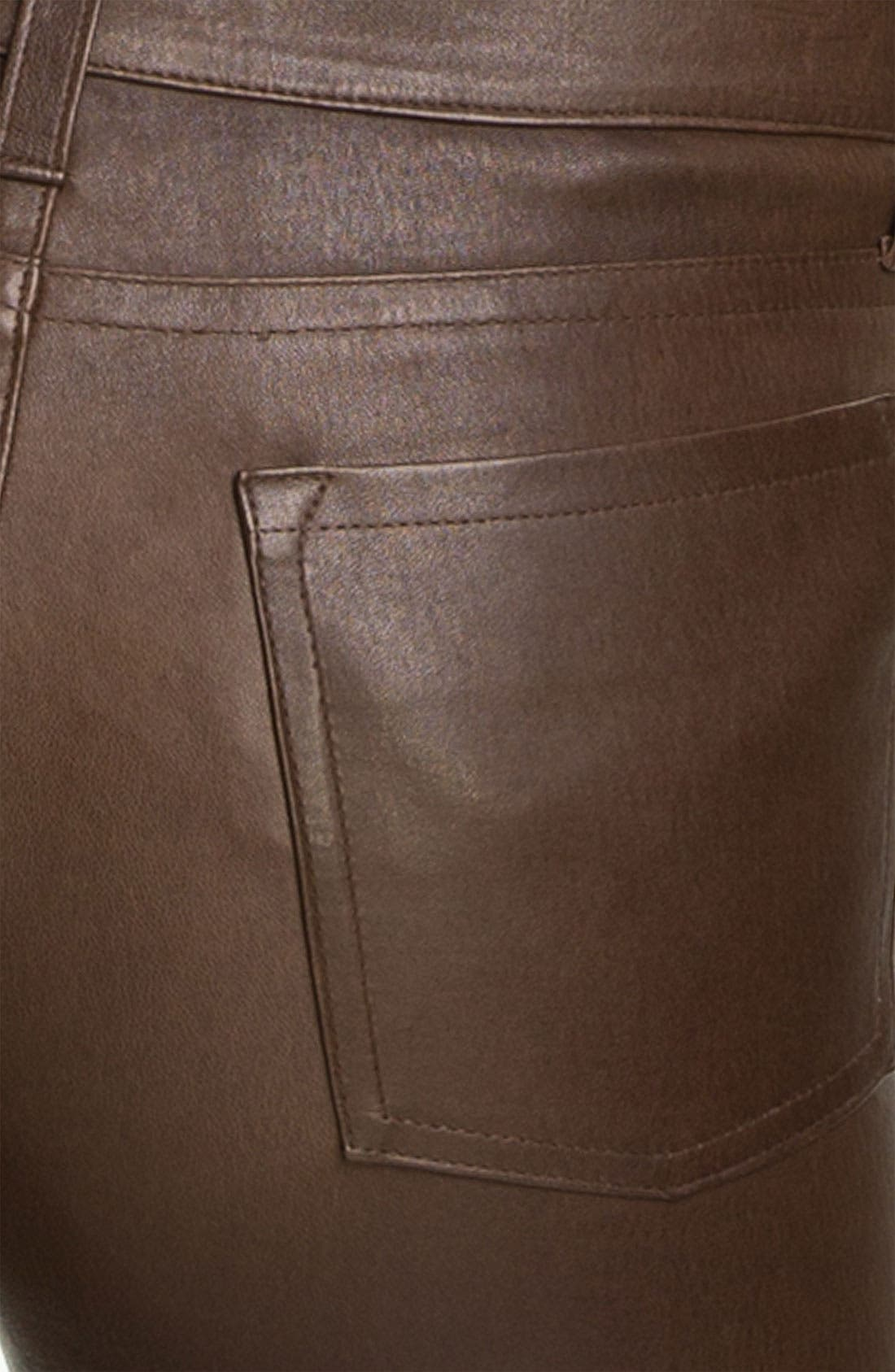 Alternate Image 3  - Vince Skinny Stretch Leather Pants
