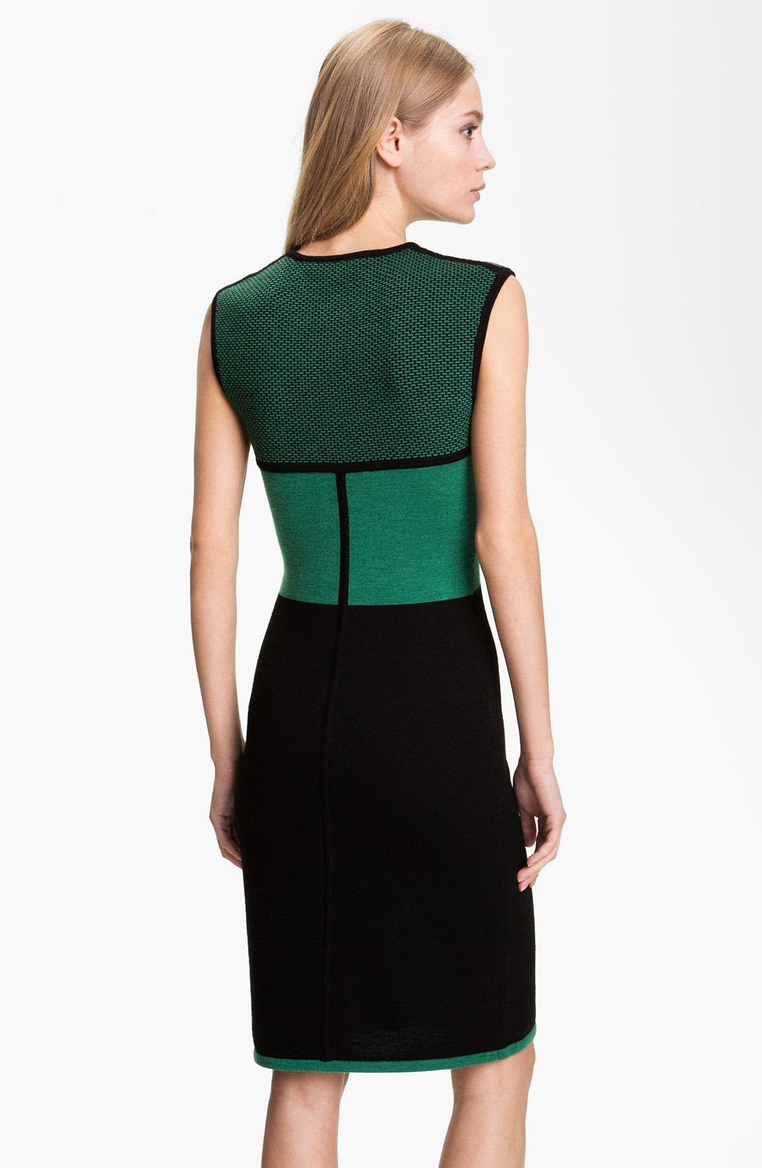 Alternate Image 2  - Rachel Roy Colorblock Wool Shift Dress