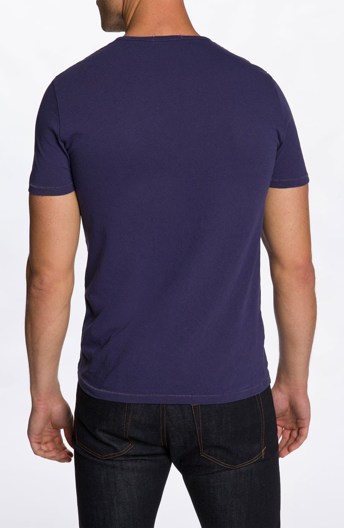 Alternate Image 2  - Alternative 'Rusty Moroccan' Split Crewneck T-Shirt