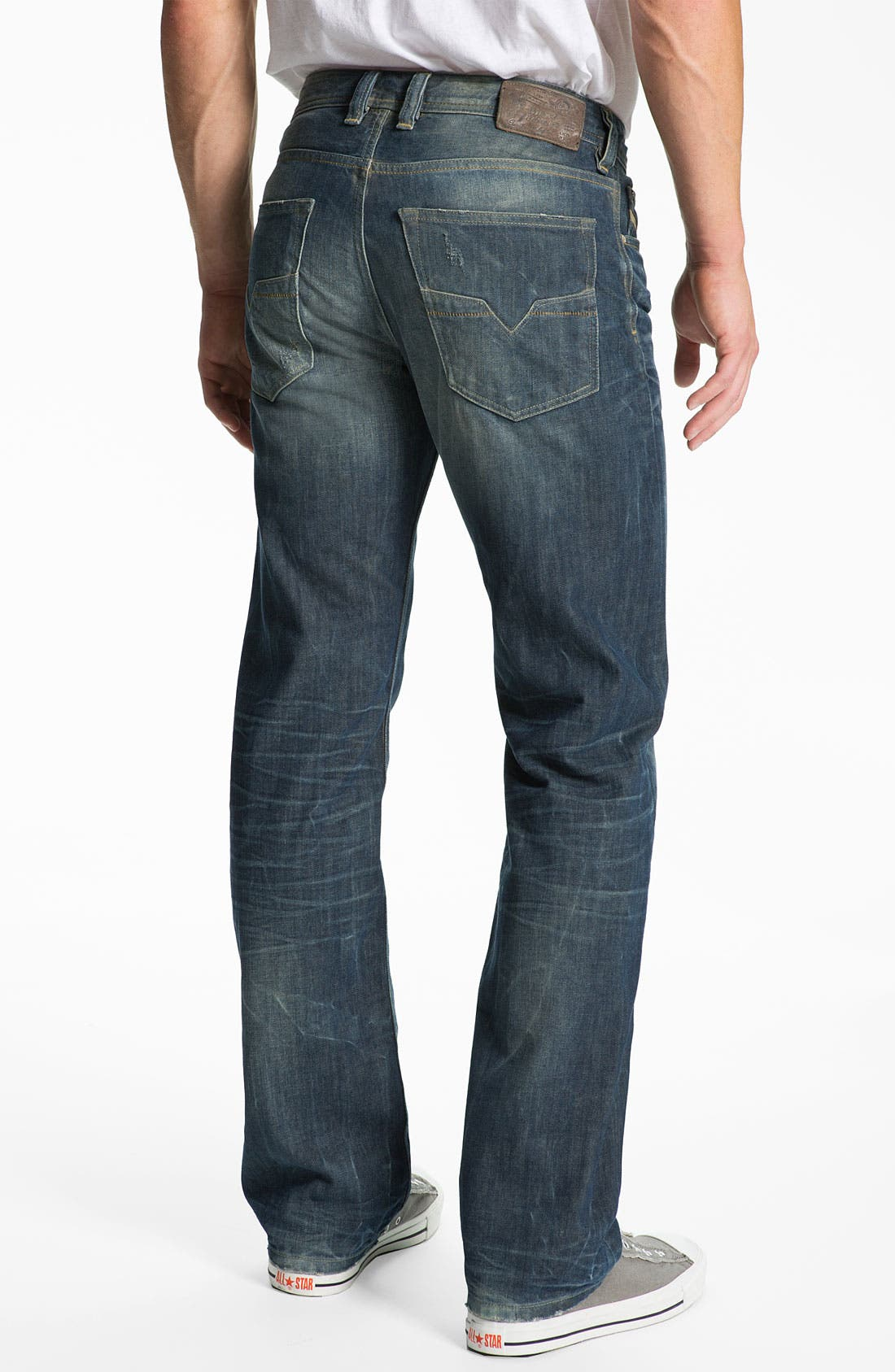 Alternate Image 1 Selected - DIESEL® 'Larkee' Relaxed Straight Leg Jeans (0805U)