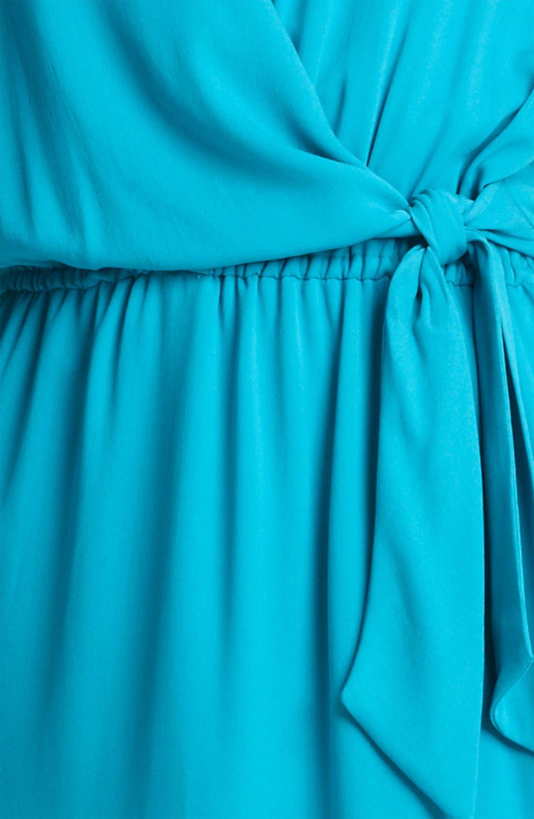 Alternate Image 3  - Armani Collezioni Silk Crepe Dress