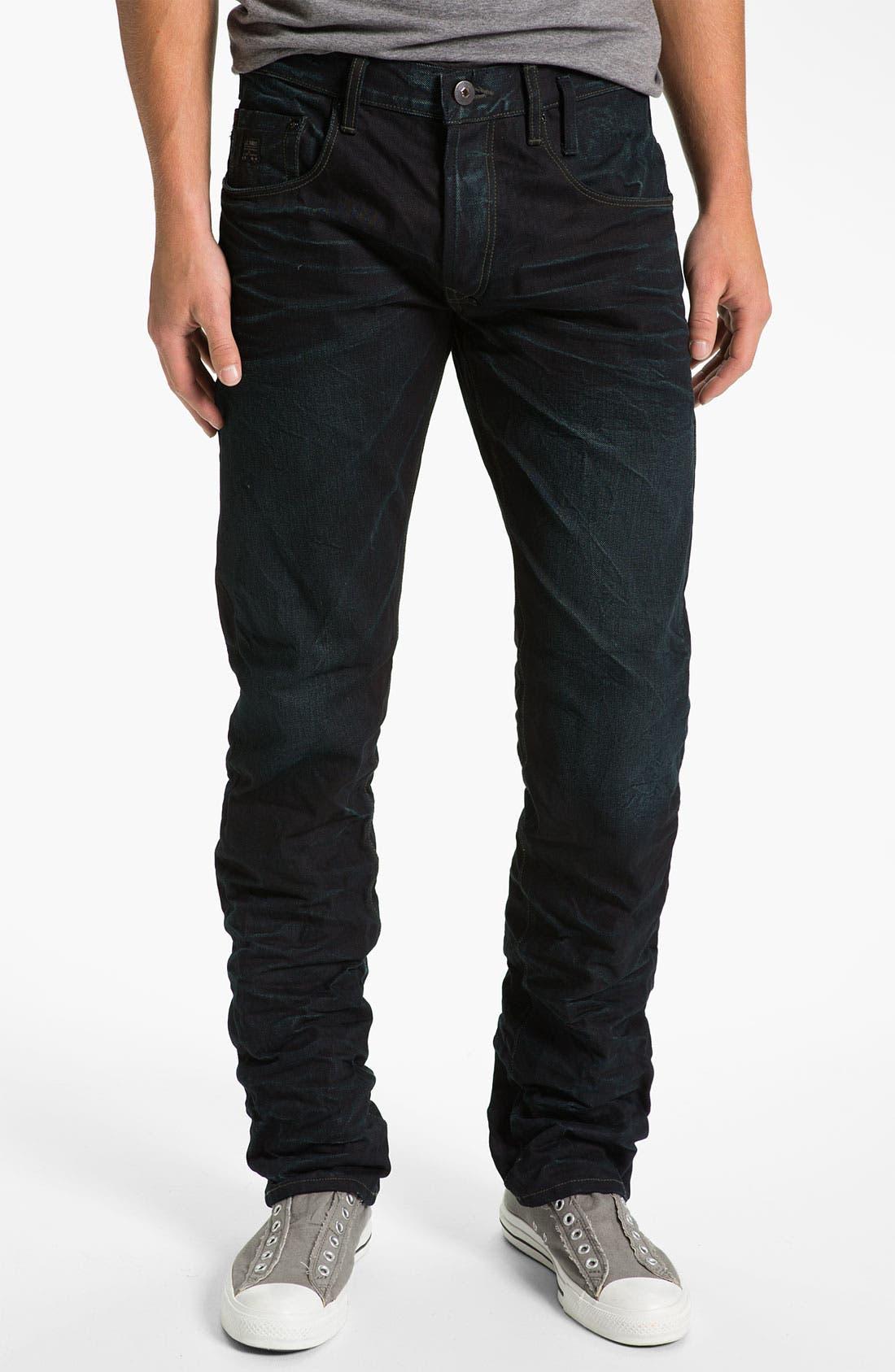 Alternate Image 2  - J.C. Rags 'Alpha' Straight Leg Jeans (Used)