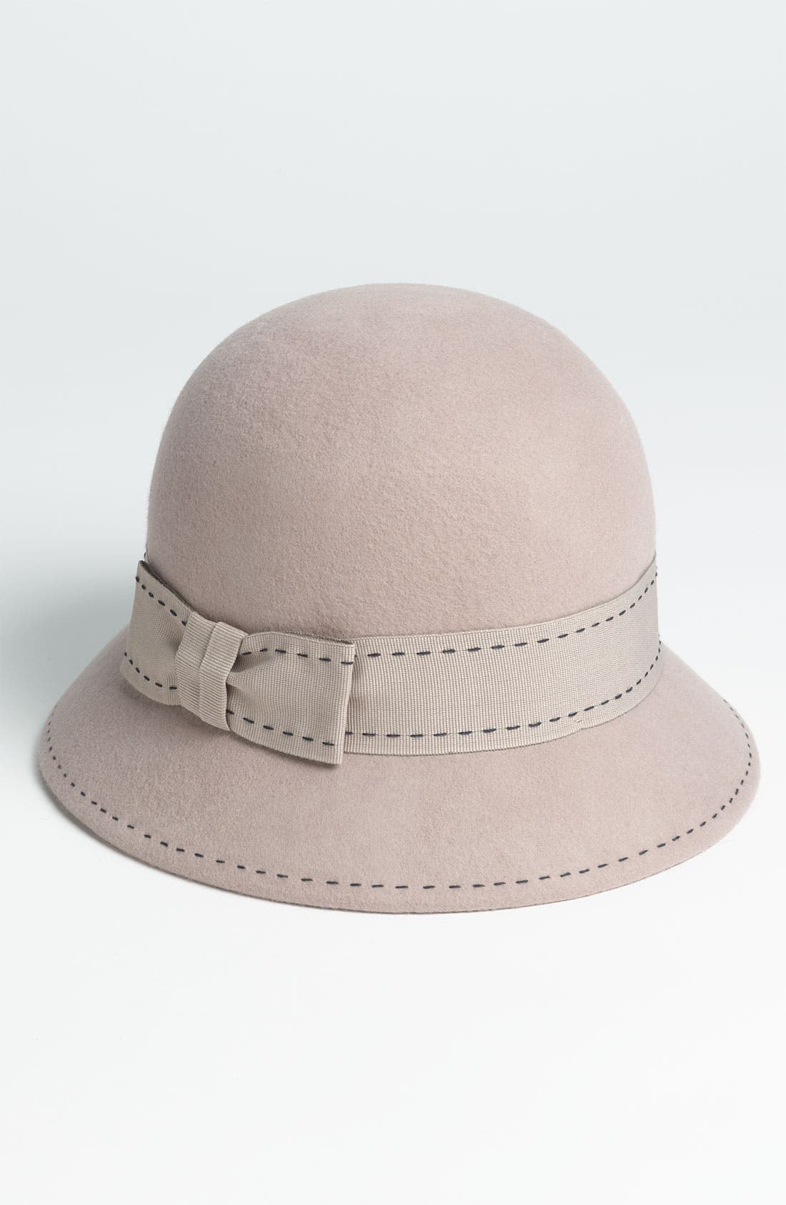 Alternate Image 1 Selected - Nordstrom Contrast Stitch Cloche