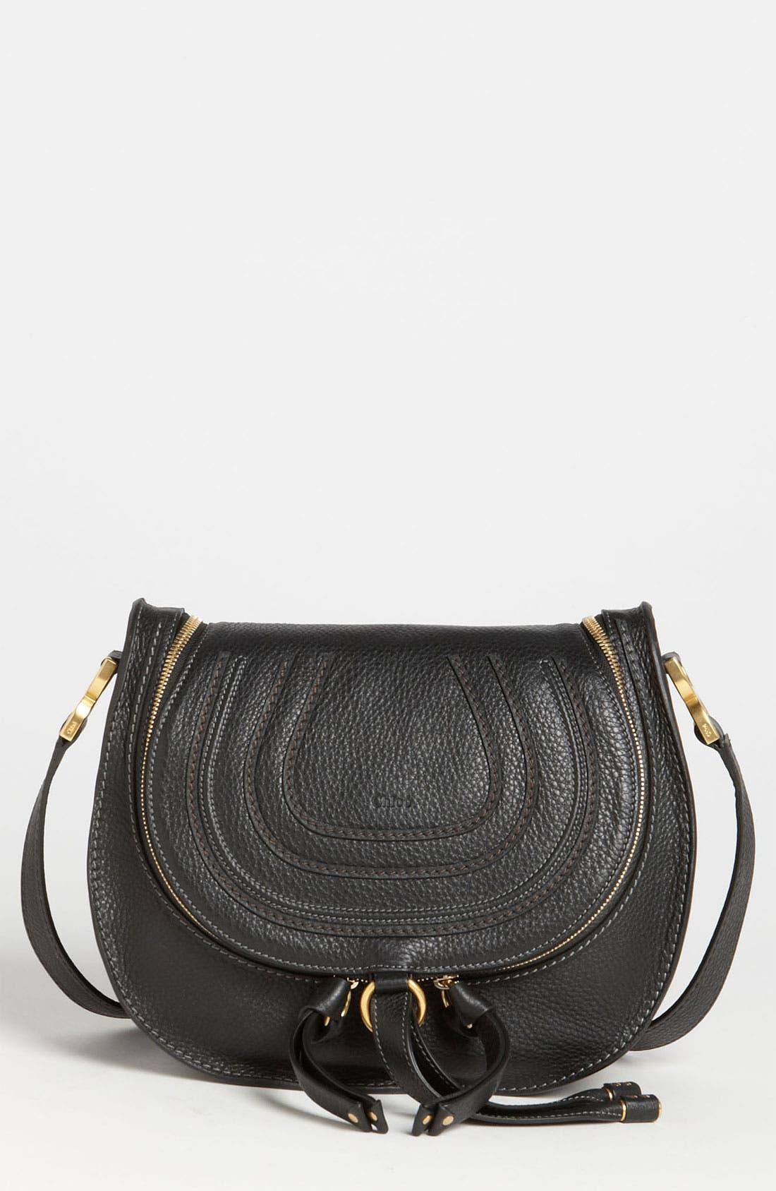 Main Image - Chloé 'Marcie' Leather Crossbody Bag