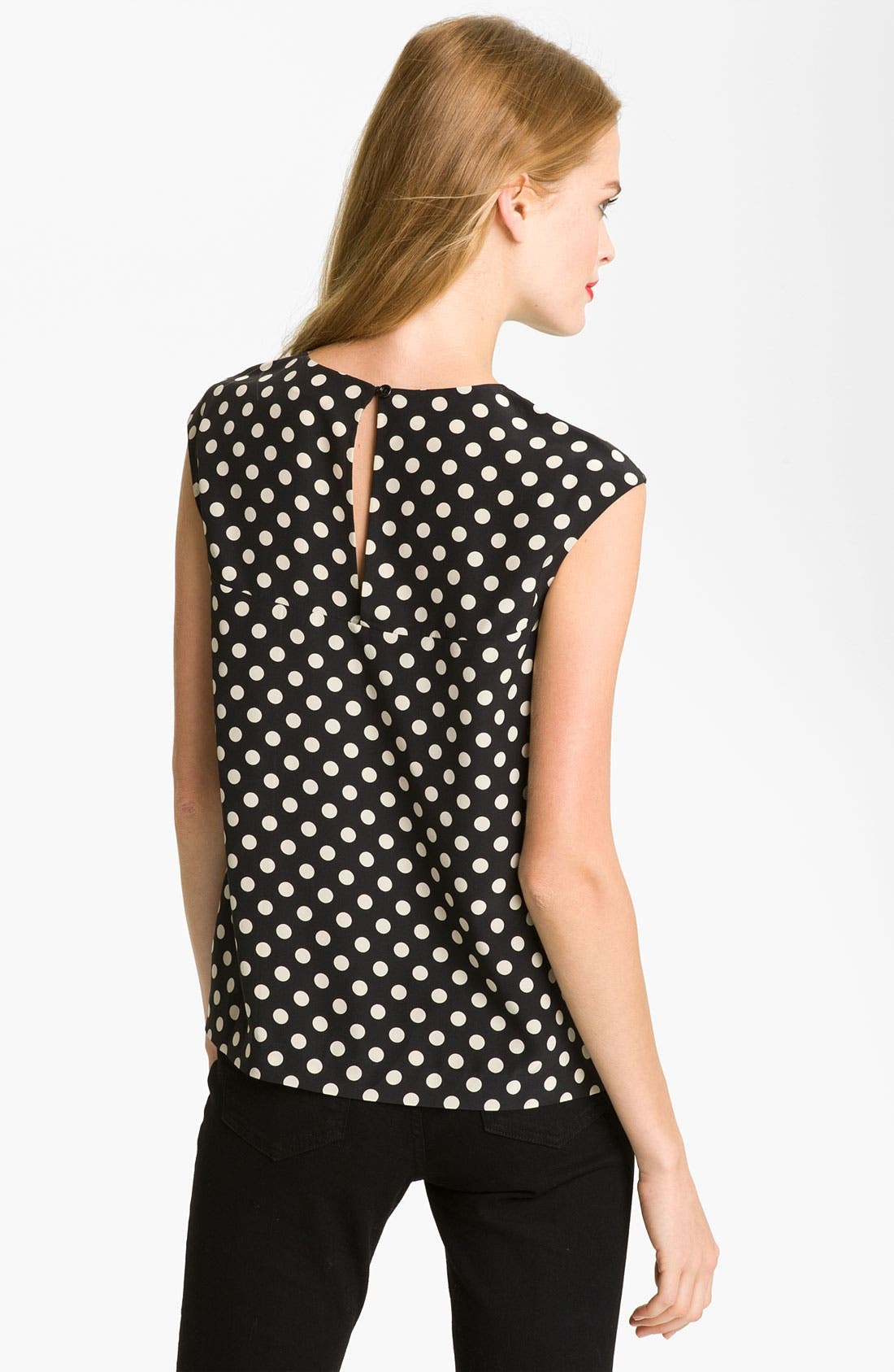 Alternate Image 2  - kate spade new york 'fran' silk blouse
