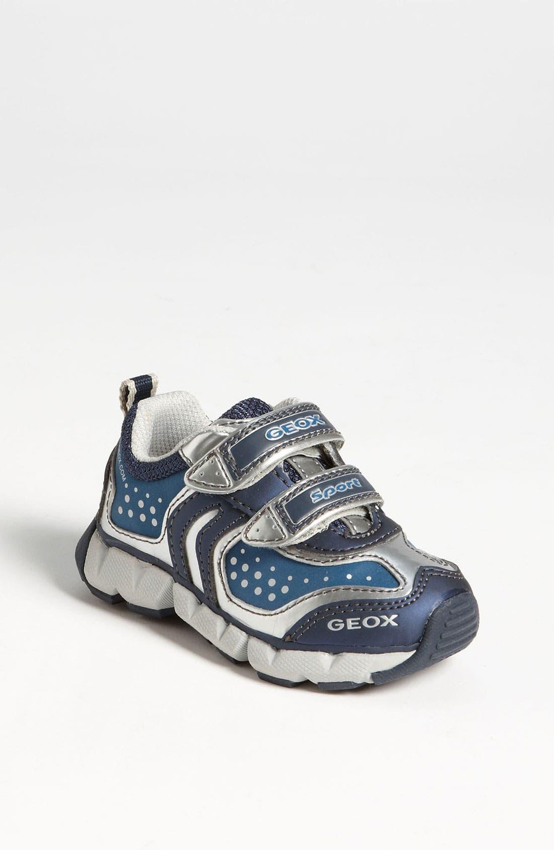 Alternate Image 1 Selected - Geox 'Rumble' Sneaker (Walker & Toddler)