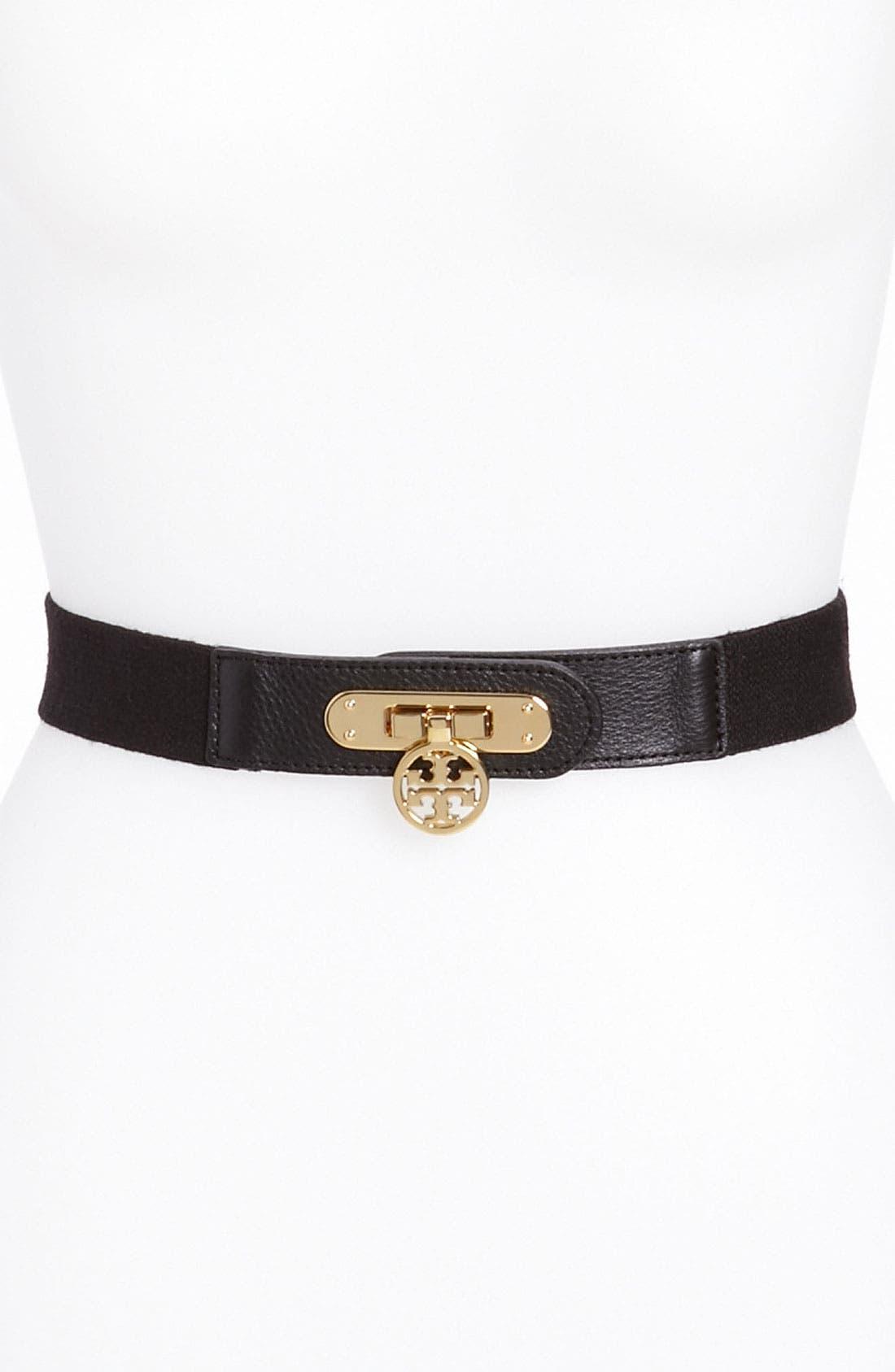 Main Image - Tory Burch 'Daria' Stretch Belt