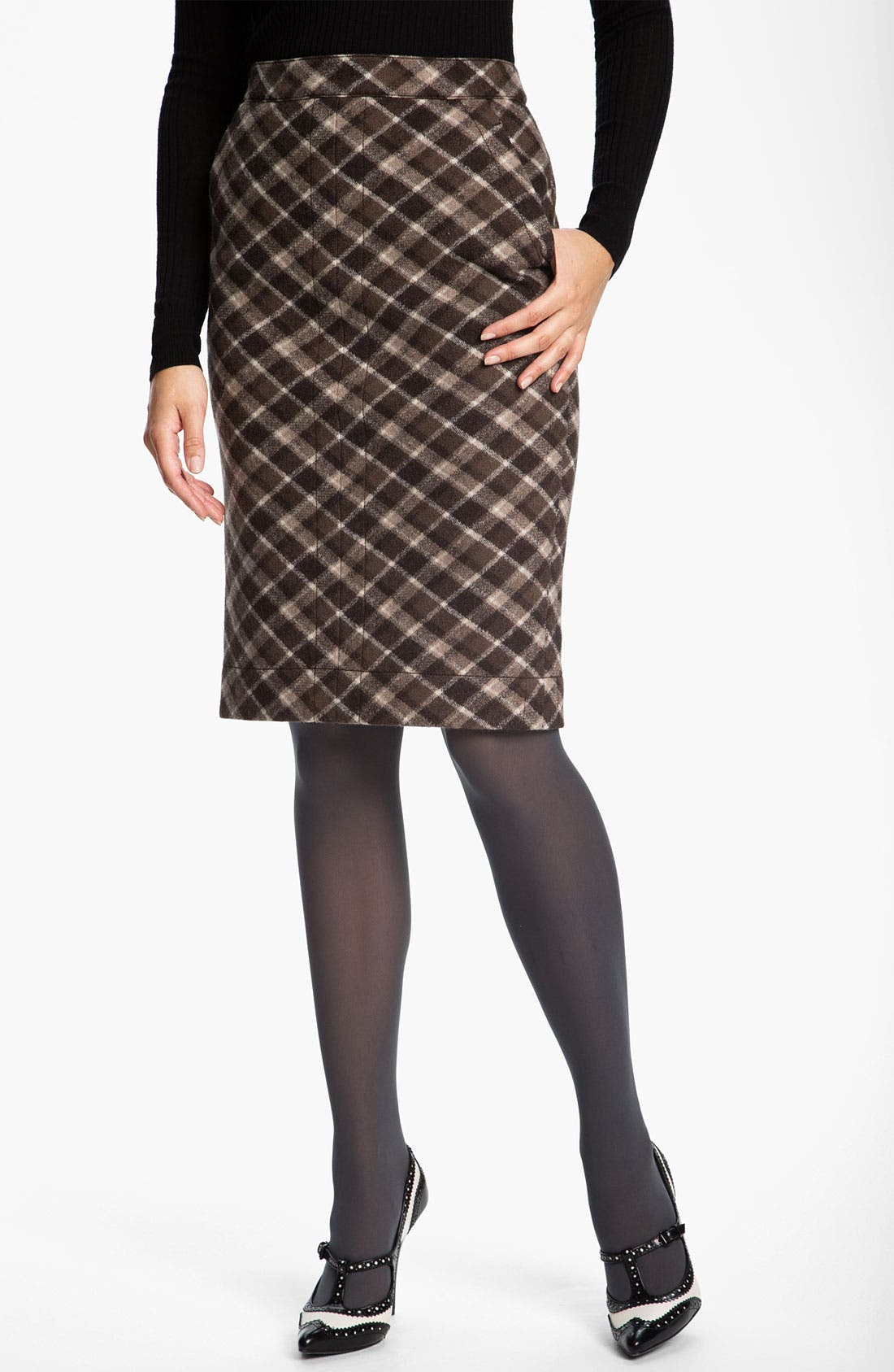 Alternate Image 1 Selected - Tory Burch 'Hawthorne' Pencil Skirt (Online Exclusive)