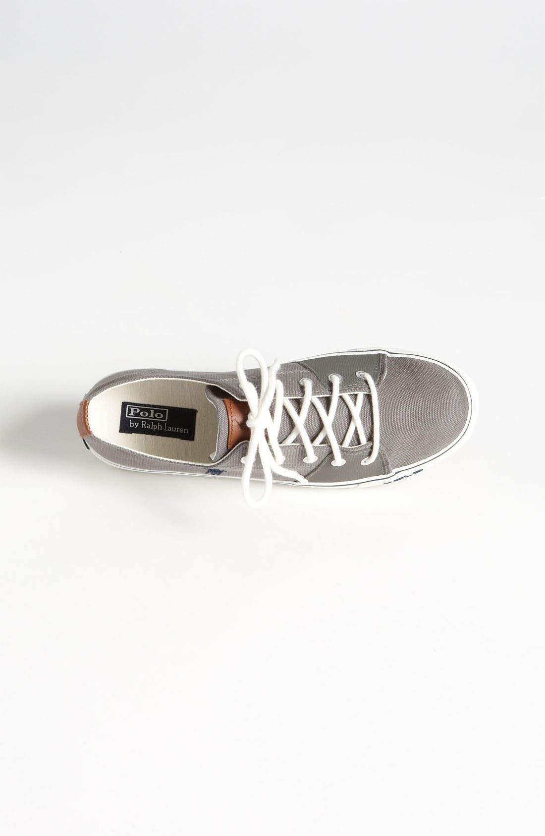 Alternate Image 3  - Ralph Lauren Sneaker (Toddler, Little Kid & Big Kid)