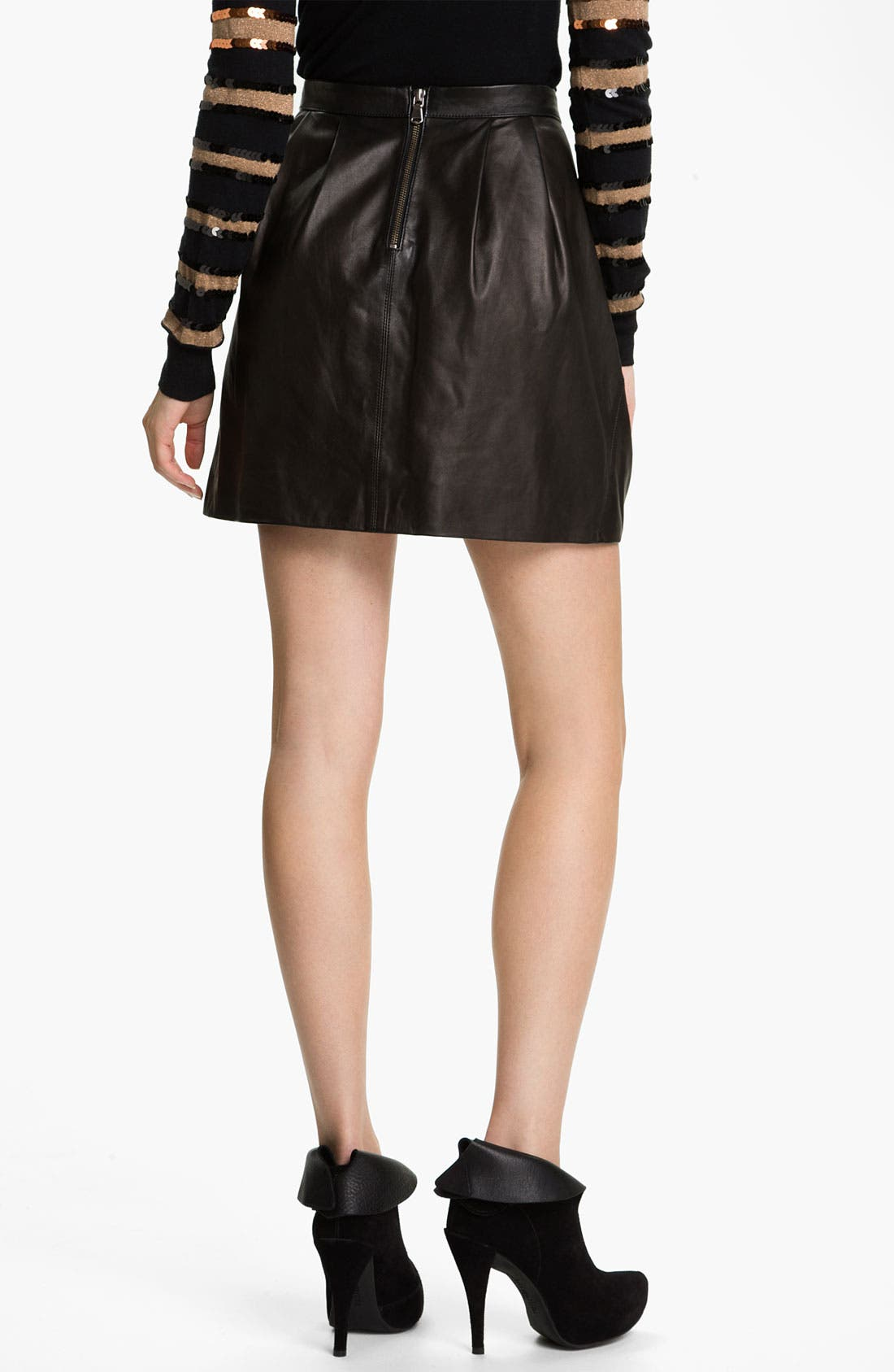 Alternate Image 2  - MARC BY MARC JACOBS 'Sergeant' Leather Skirt