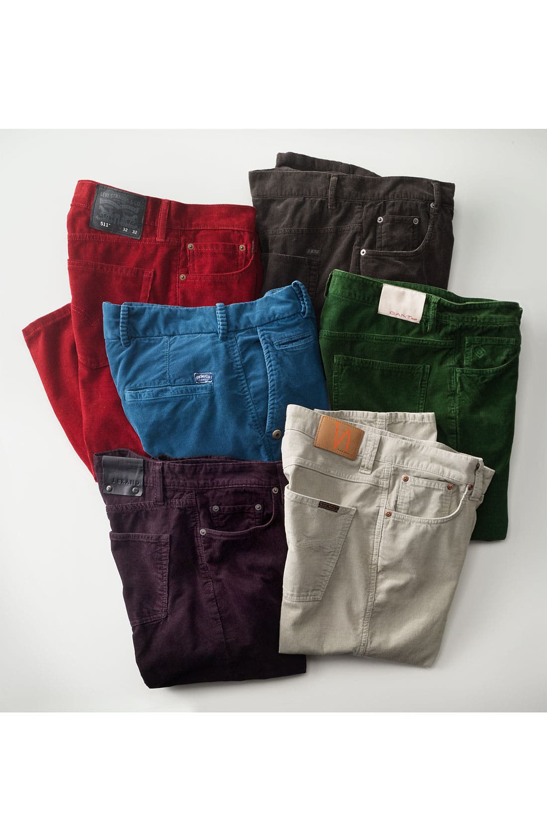 Alternate Image 5  - J Brand 'Kane' Slim Straight Leg Corduroy Pants