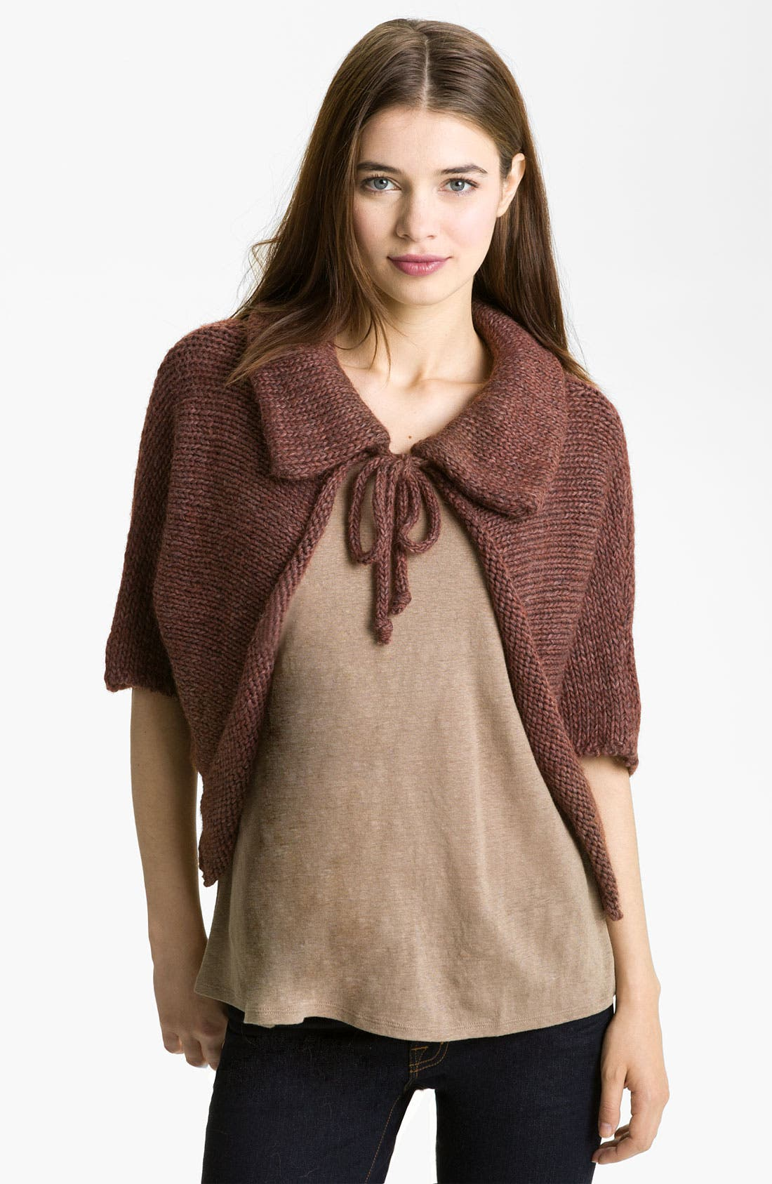 Alternate Image 1 Selected - Tarnish 'Short Flyaway' Cardigan