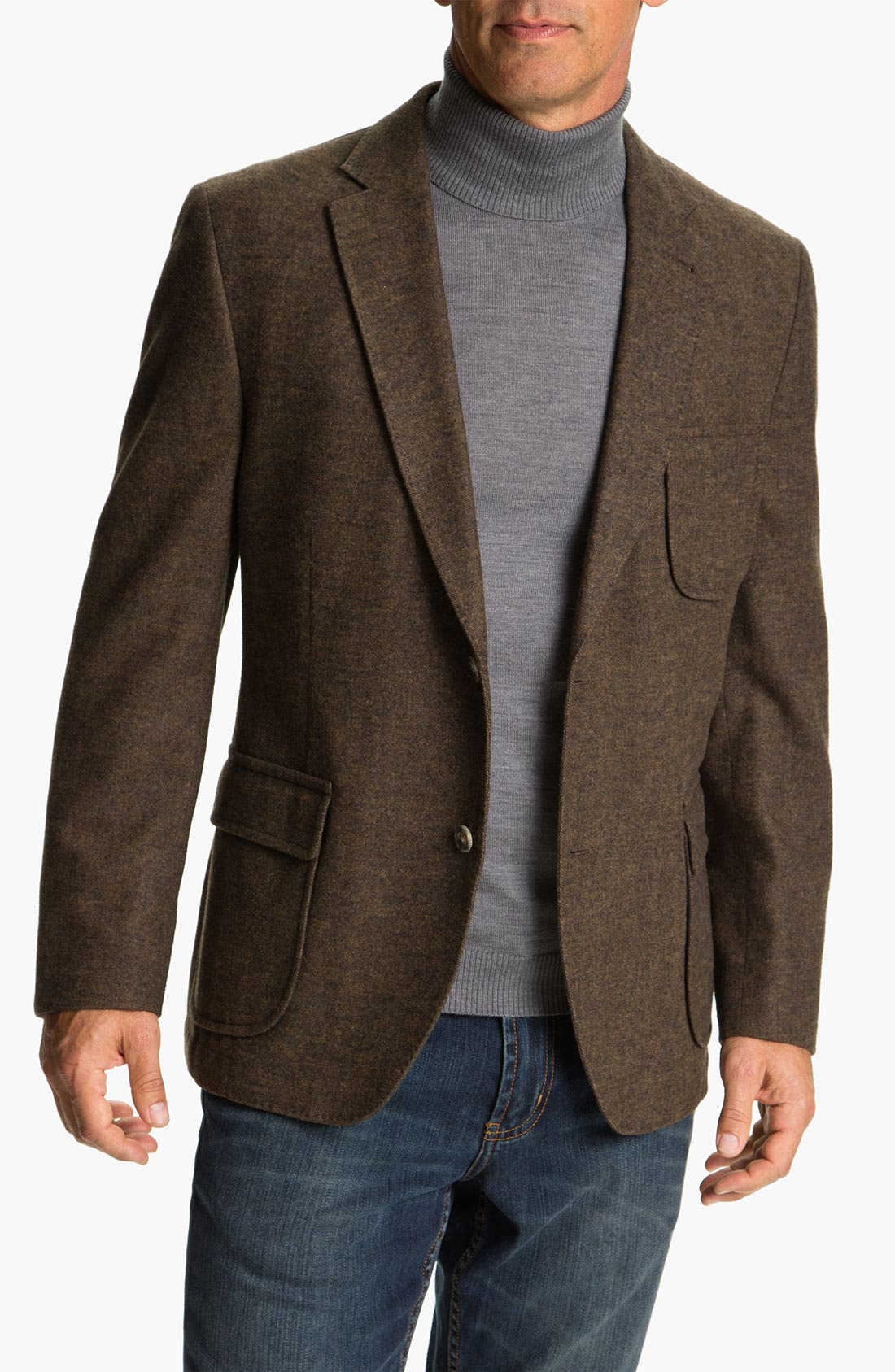 Main Image - Kroon 'Harrison' Wool & Cotton Blend  Sportcoat