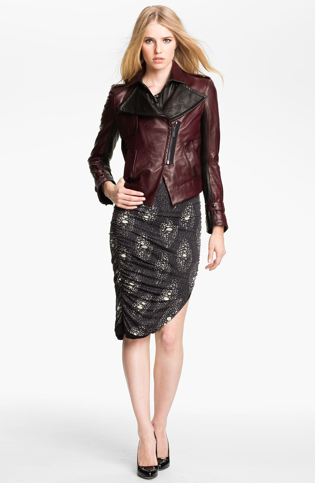 Main Image - Kelly Wearstler 'Triton' Asymmetrical Leather Jacket