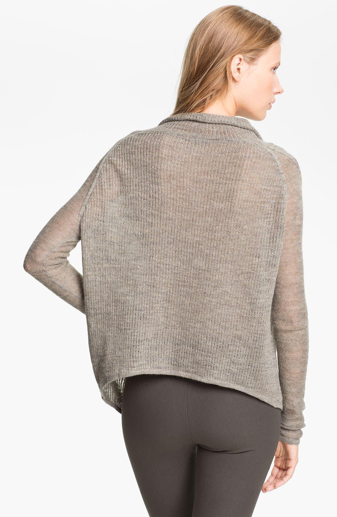 Alternate Image 2  - HELMUT Helmut Lang Linen Blend Sweater