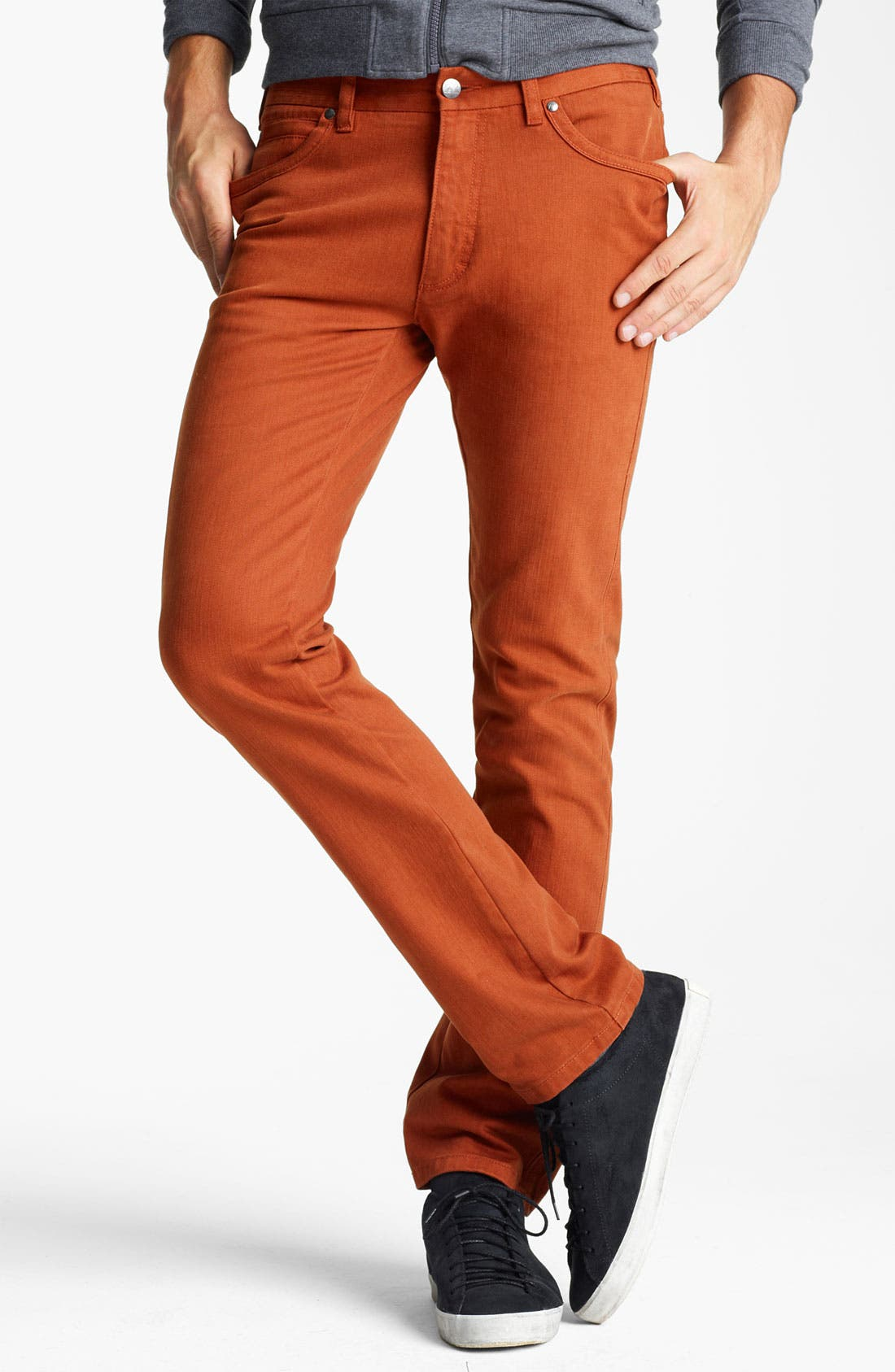 Alternate Image 1 Selected - Zegna Sport Straight Leg Jeans