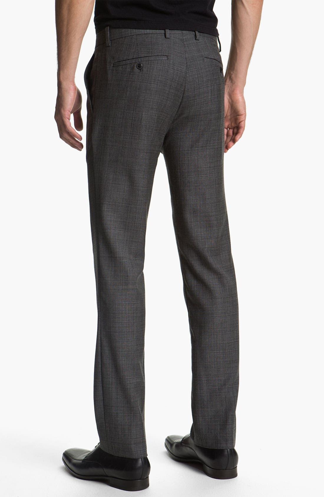 Alternate Image 2  - Theory 'Marlo LaJoux' Straight Leg Wool Pants