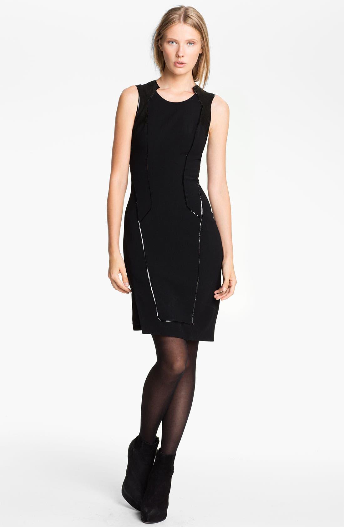 Alternate Image 1 Selected - Helmut Lang Seam Detail Dress