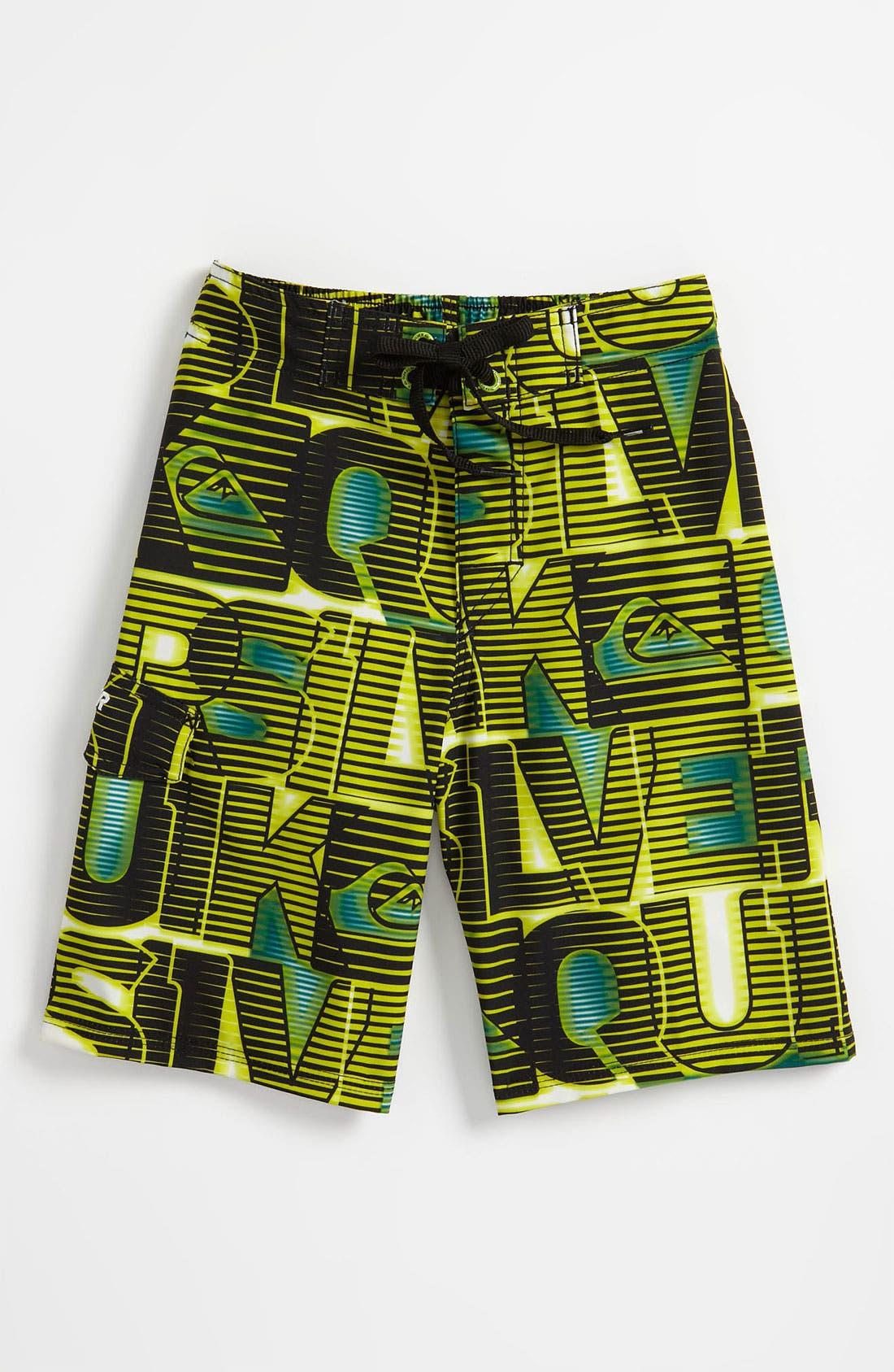 Main Image - Quiksilver 'Dizzy' Board Shorts (Little Boys)