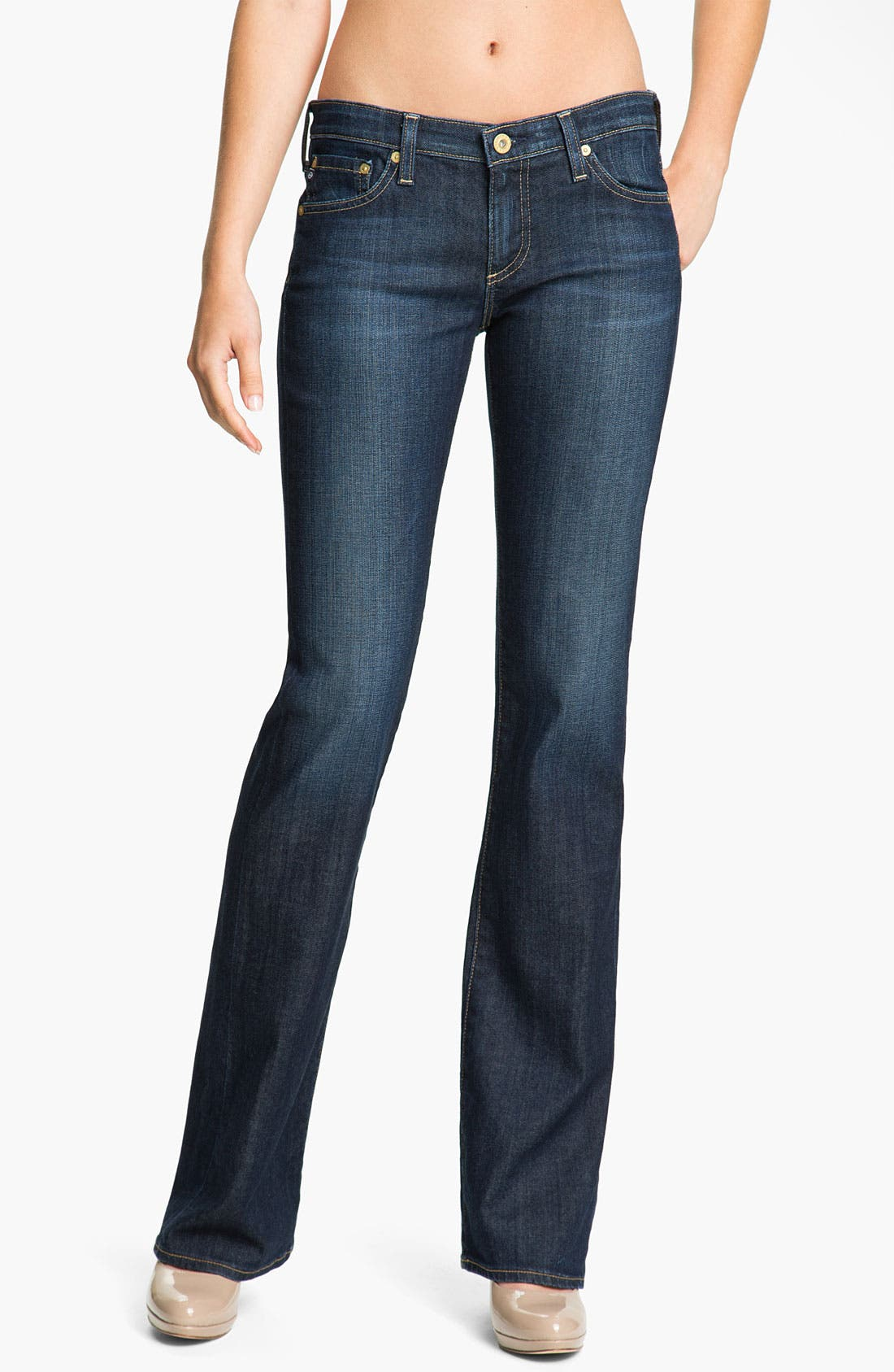 Alternate Image 1 Selected - AG Jeans 'Angel' Bootcut Stretch Denim Jeans (Astrid)