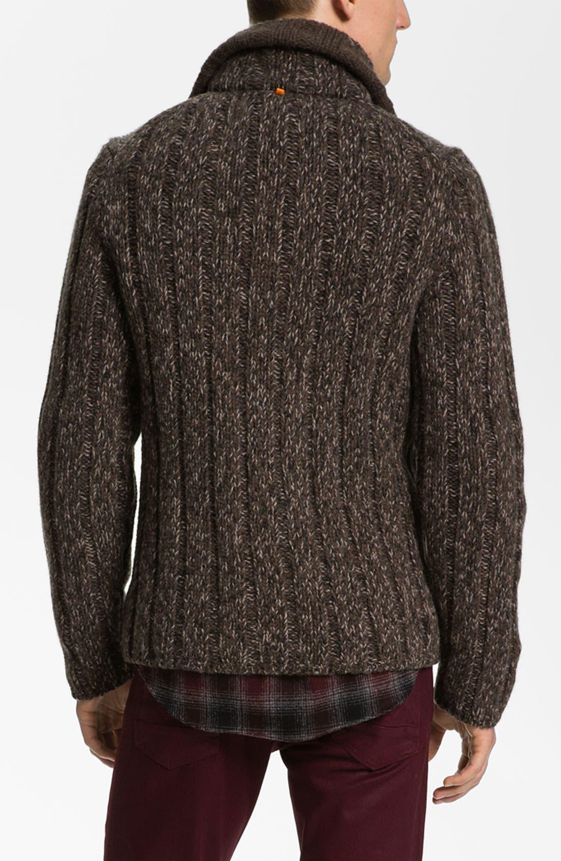 Alternate Image 2  - BOSS Orange Wool Sweater