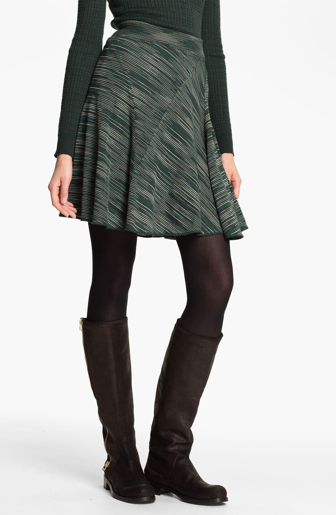 Main Image - M Missoni Space Dye A-Line Skirt