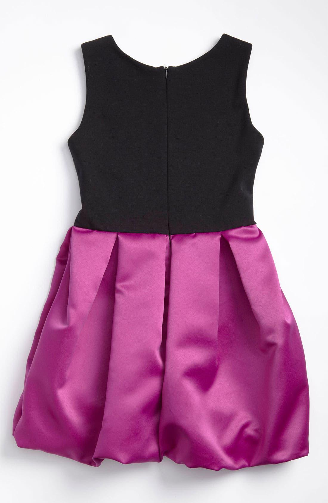 Alternate Image 2  - Zoe Ltd Sequin Bubble Dress (Big Girls)