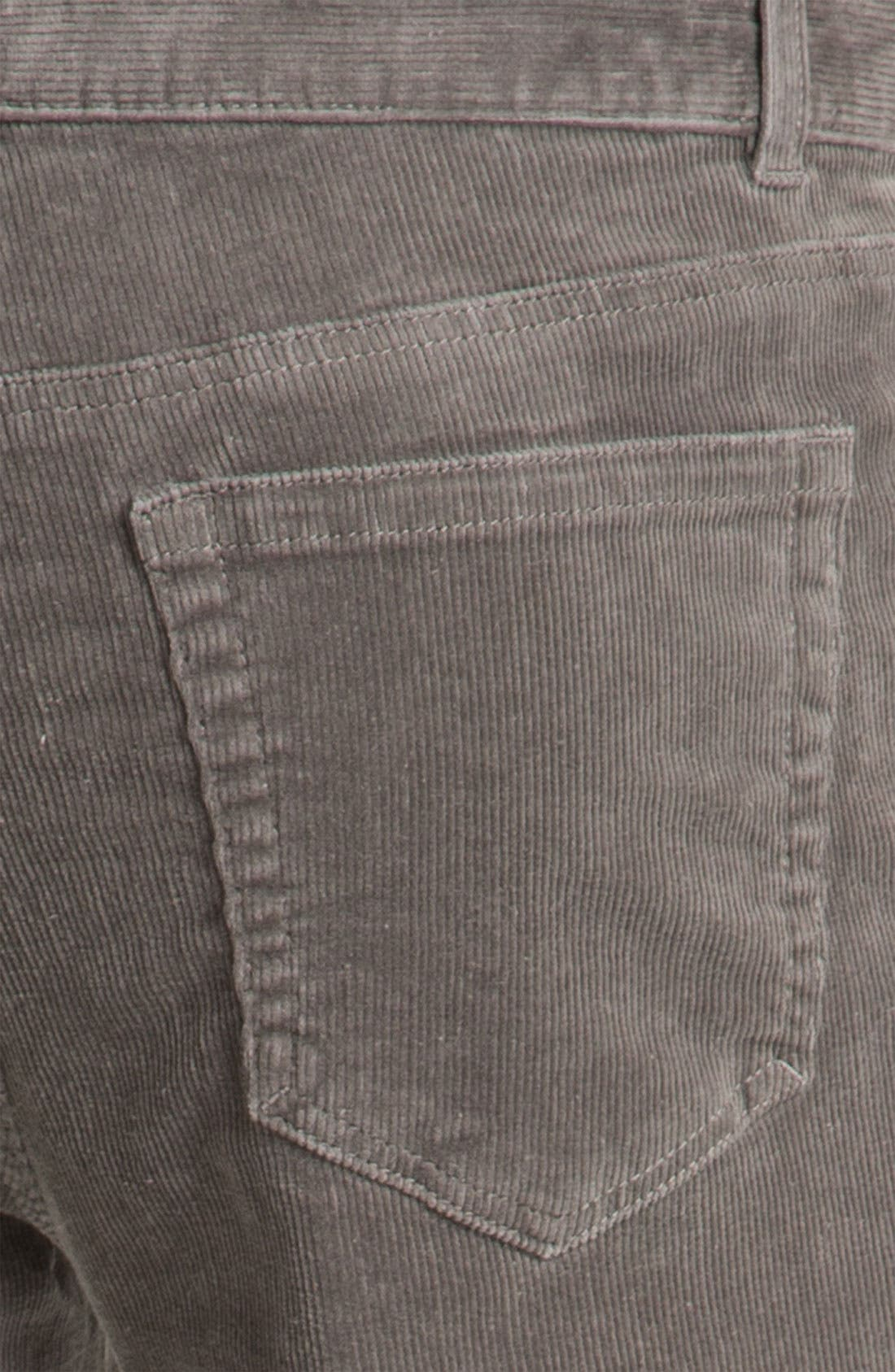 Alternate Image 3  - 1901 Straight Leg Corduroy Pants