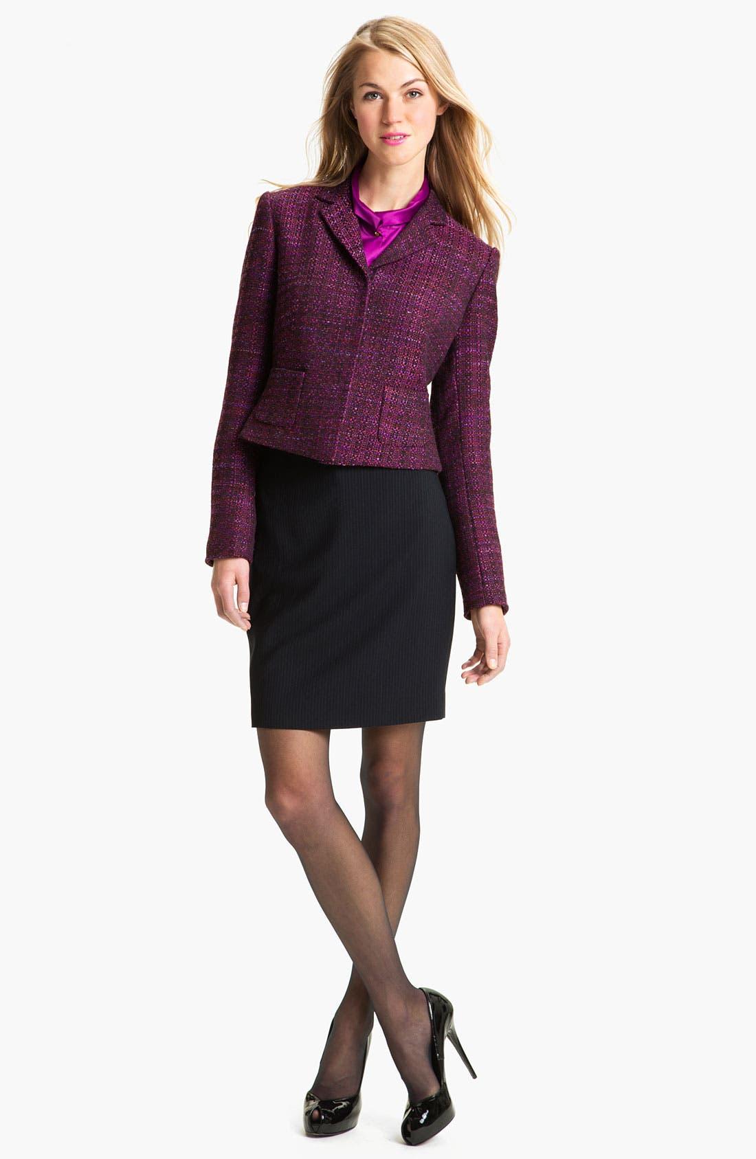 Alternate Image 3  - T Tahari 'Demsy' Skirt (Petite)